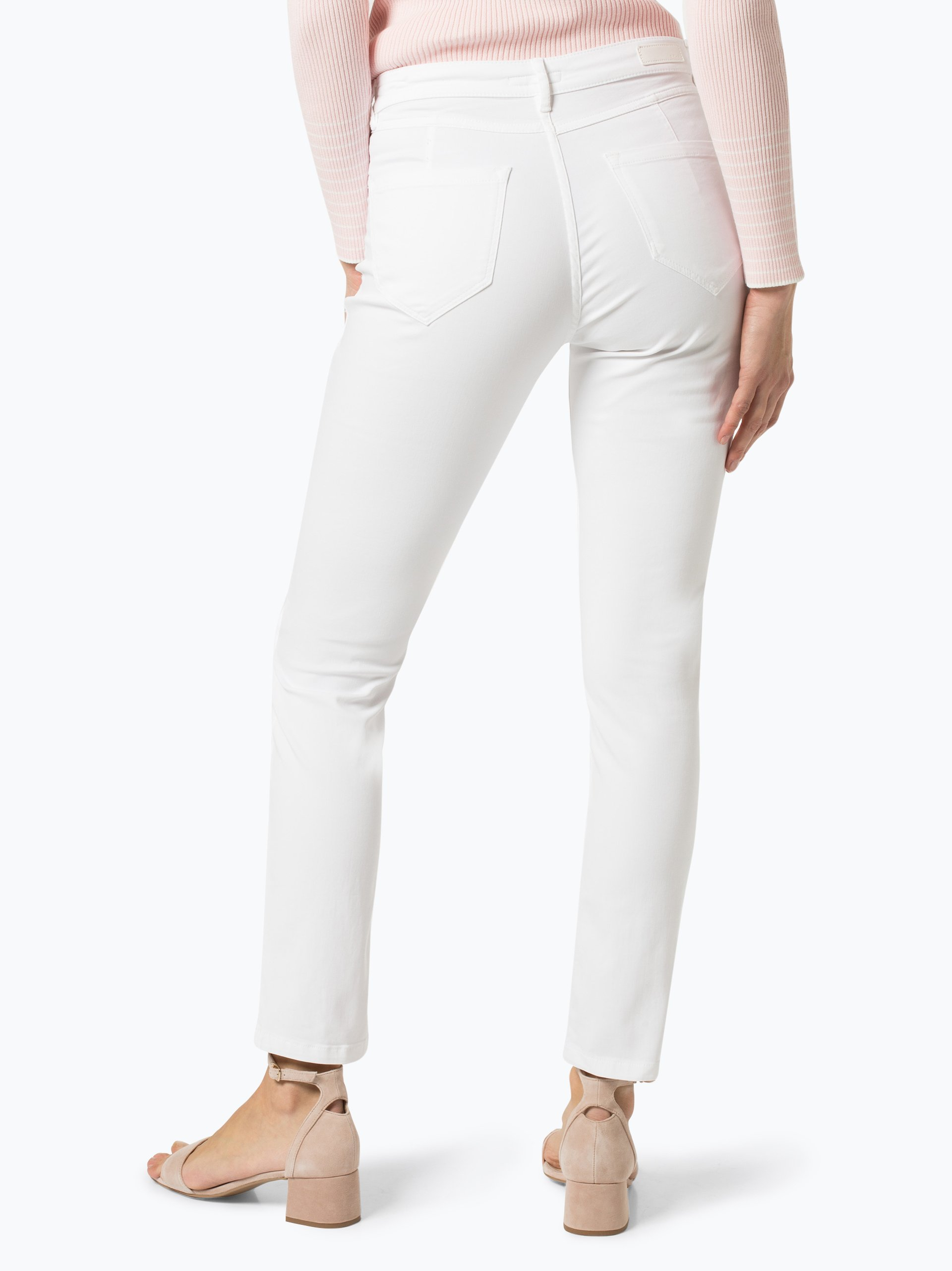 Opus Spodnie damskie – Emily Satin Stripe