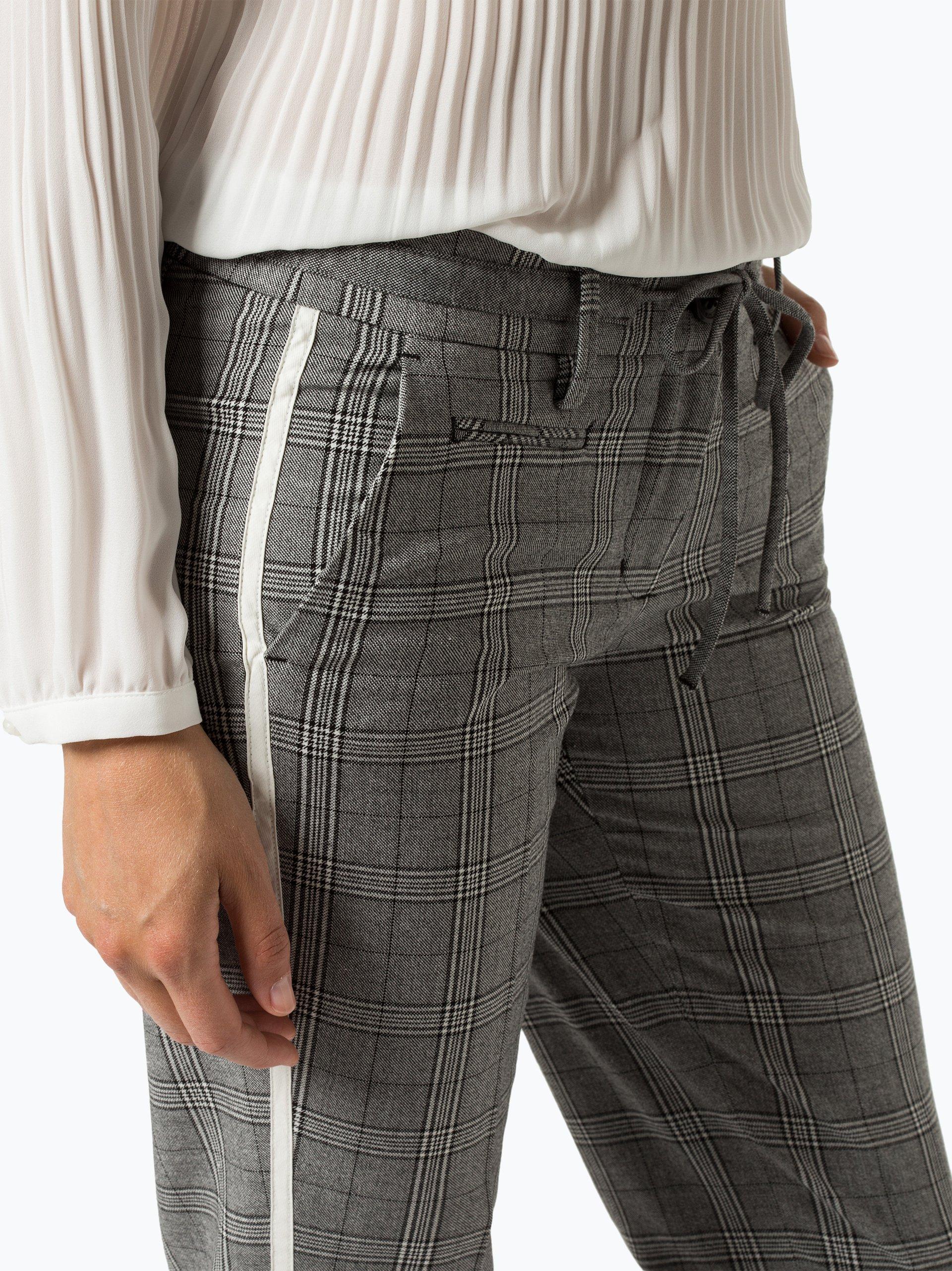 Opus Spodnie damskie – Mirjami Check