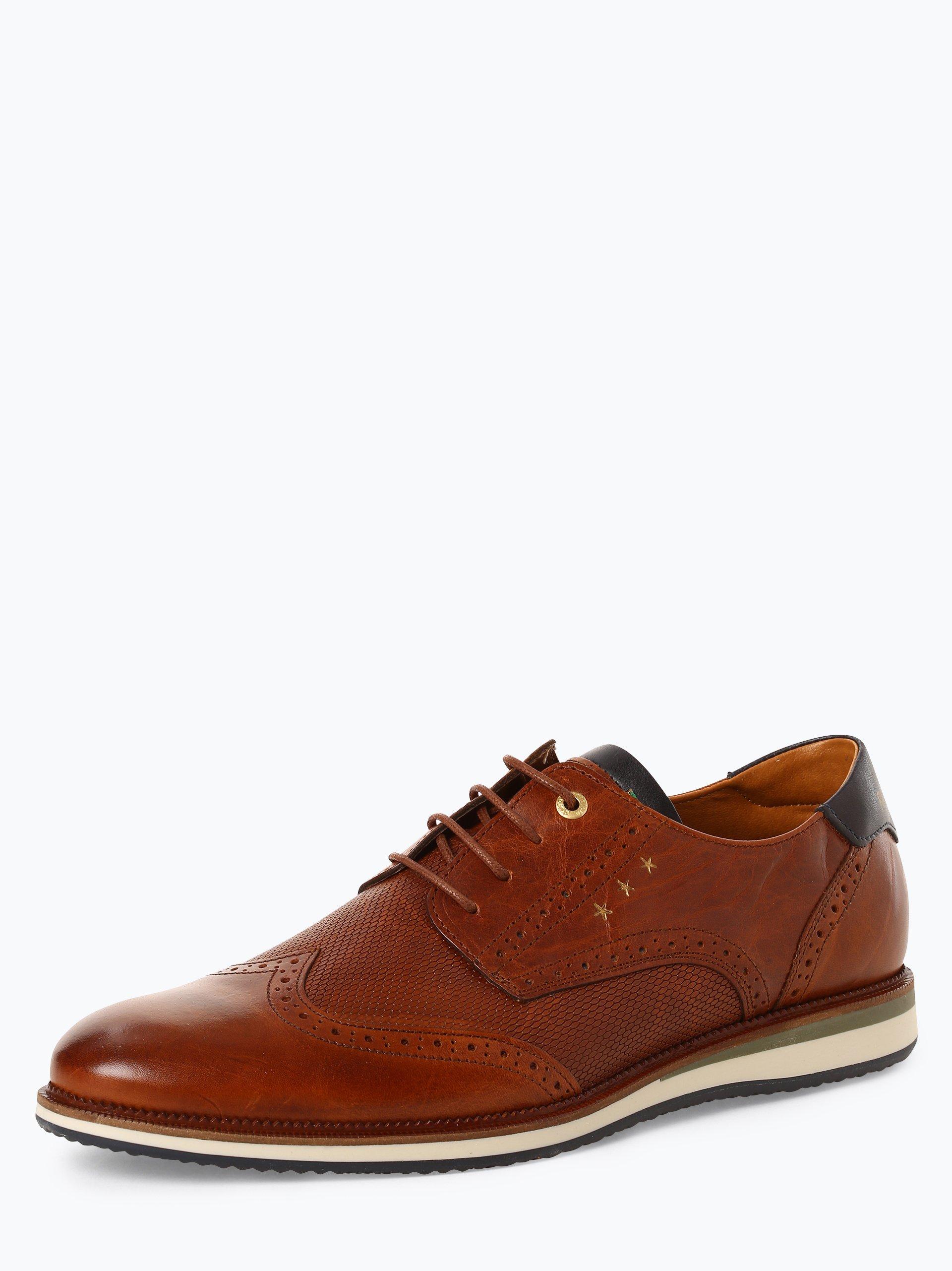 Pantofola d`Oro Herren Schnürschuhe aus Leder - Rubicon Uomo Low