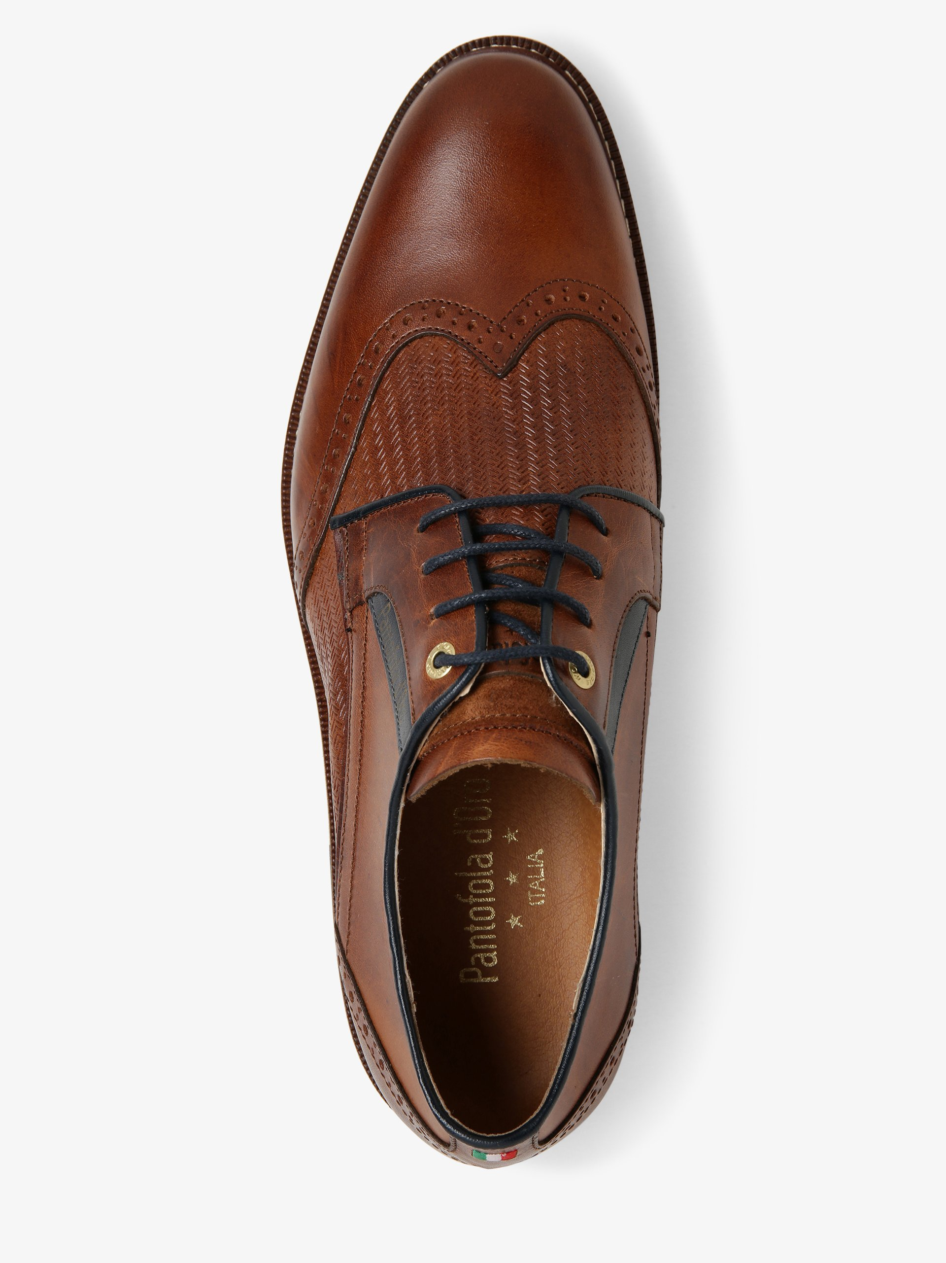 Pantofola d\'Oro Herren Schnürschuhe aus Leder