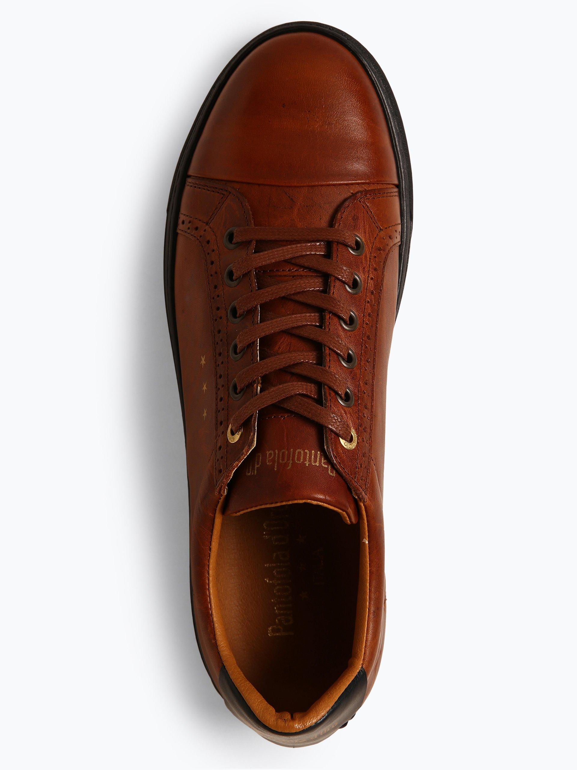 Pantofola d`Oro Herren Sneaker aus Leder - Napoli Brogue Uomo Low