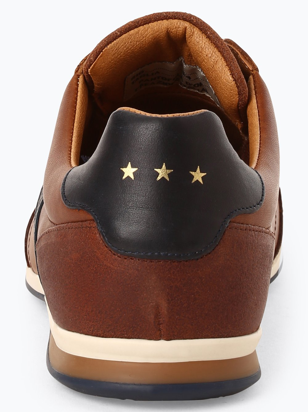 Pantofola d'Oro Herren Sneaker aus Leder Roma Uomo Low