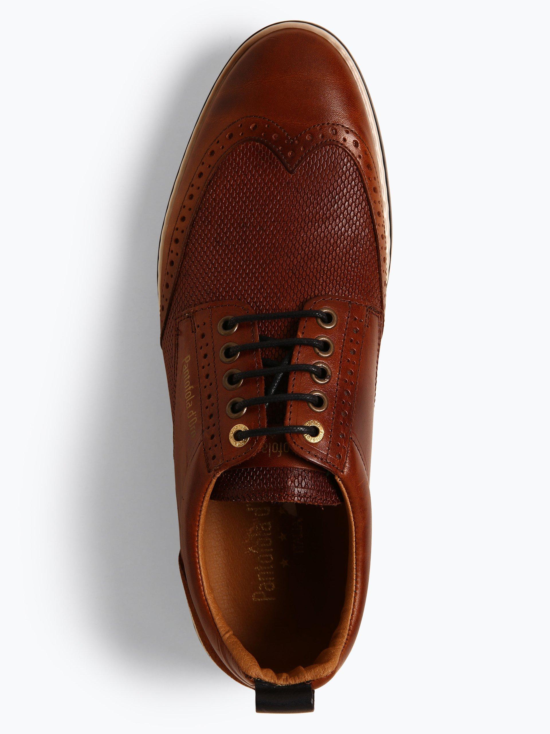Pantofola d`Oro Męskie buty sznurowane ze skóry – Milazzo