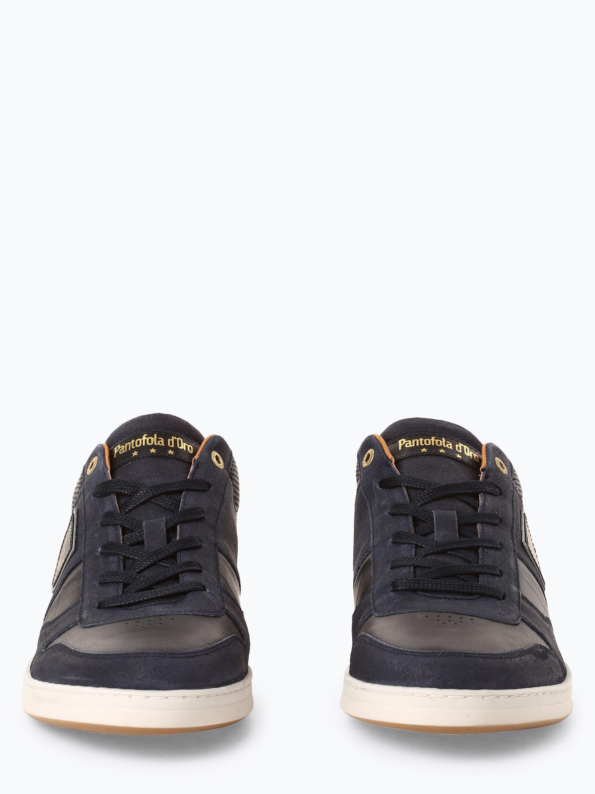 Pantofola d`Oro Męskie tenisówki ze skóry – Milito