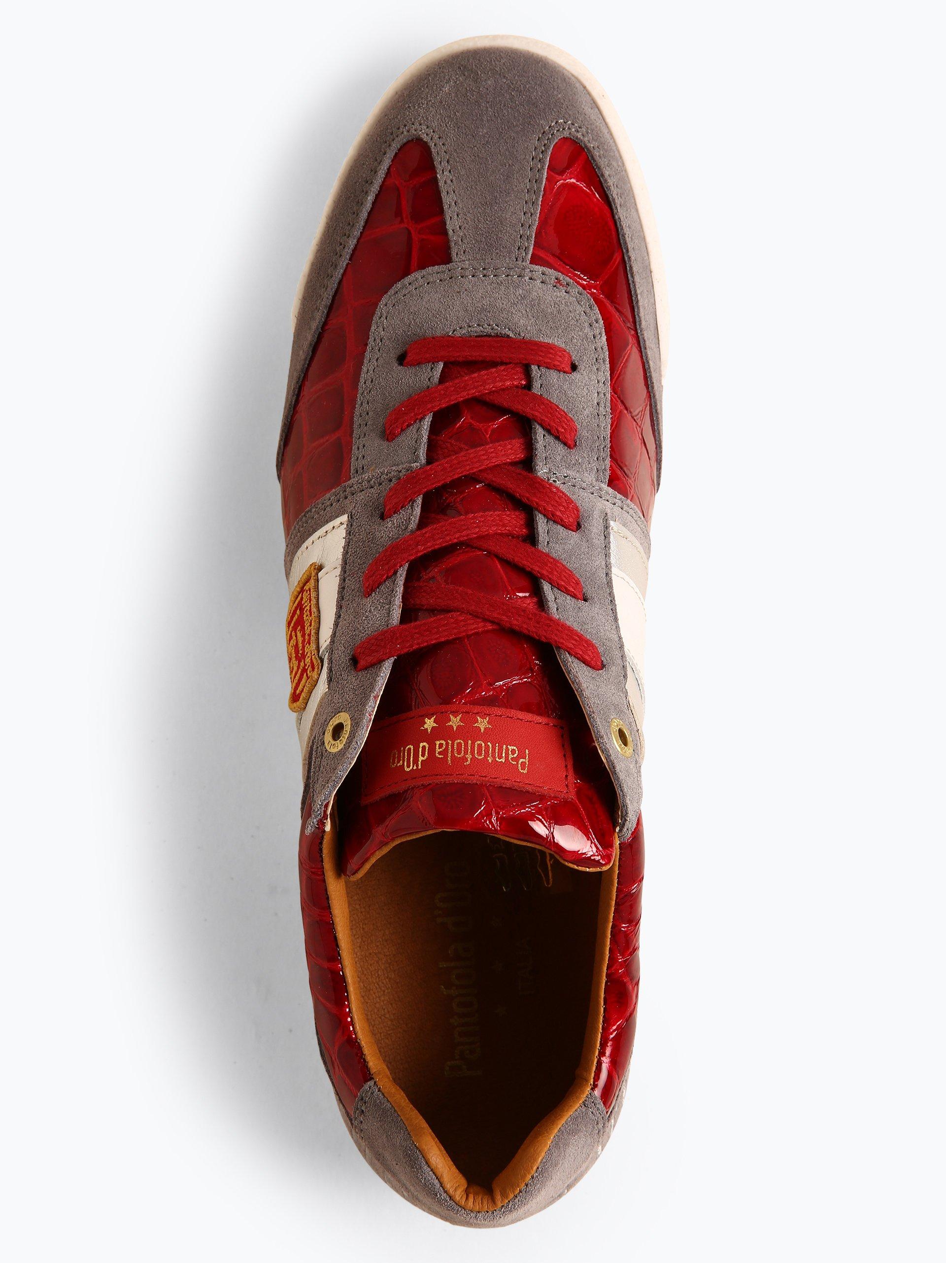 Pantofola d\'Oro Męskie tenisówki ze skóry – Patent Uomo Low