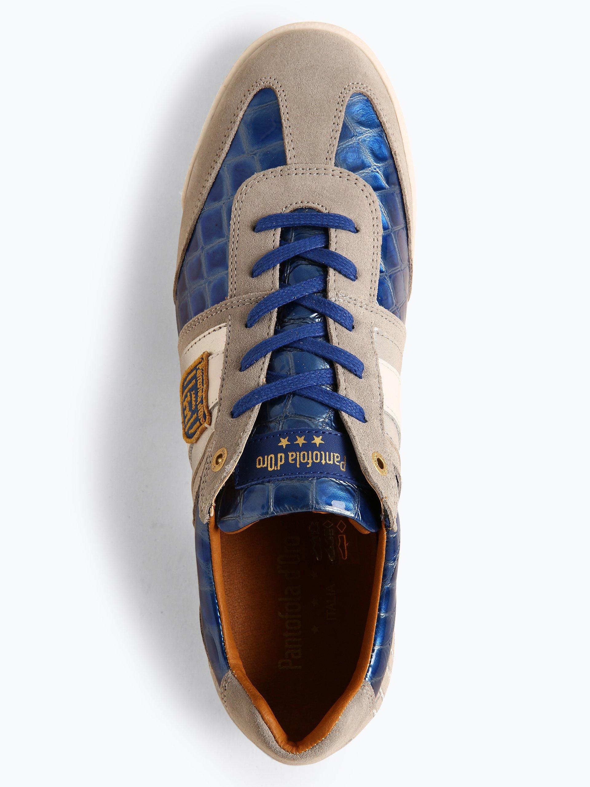 Pantofola d`Oro Męskie tenisówki ze skóry – Patent Uomo Low