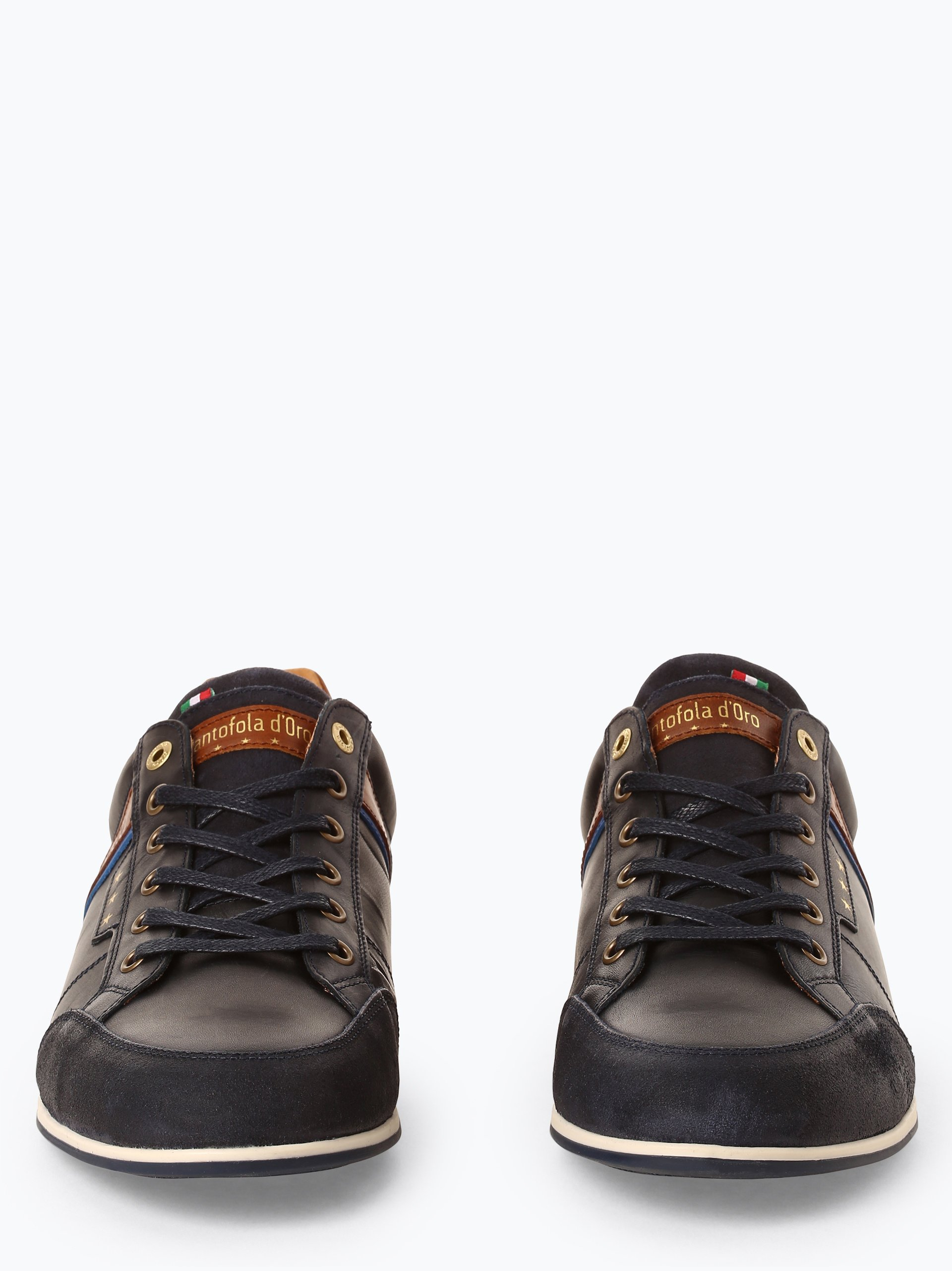 Pantofola d`Oro Męskie tenisówki ze skóry – Roma Uomo Low