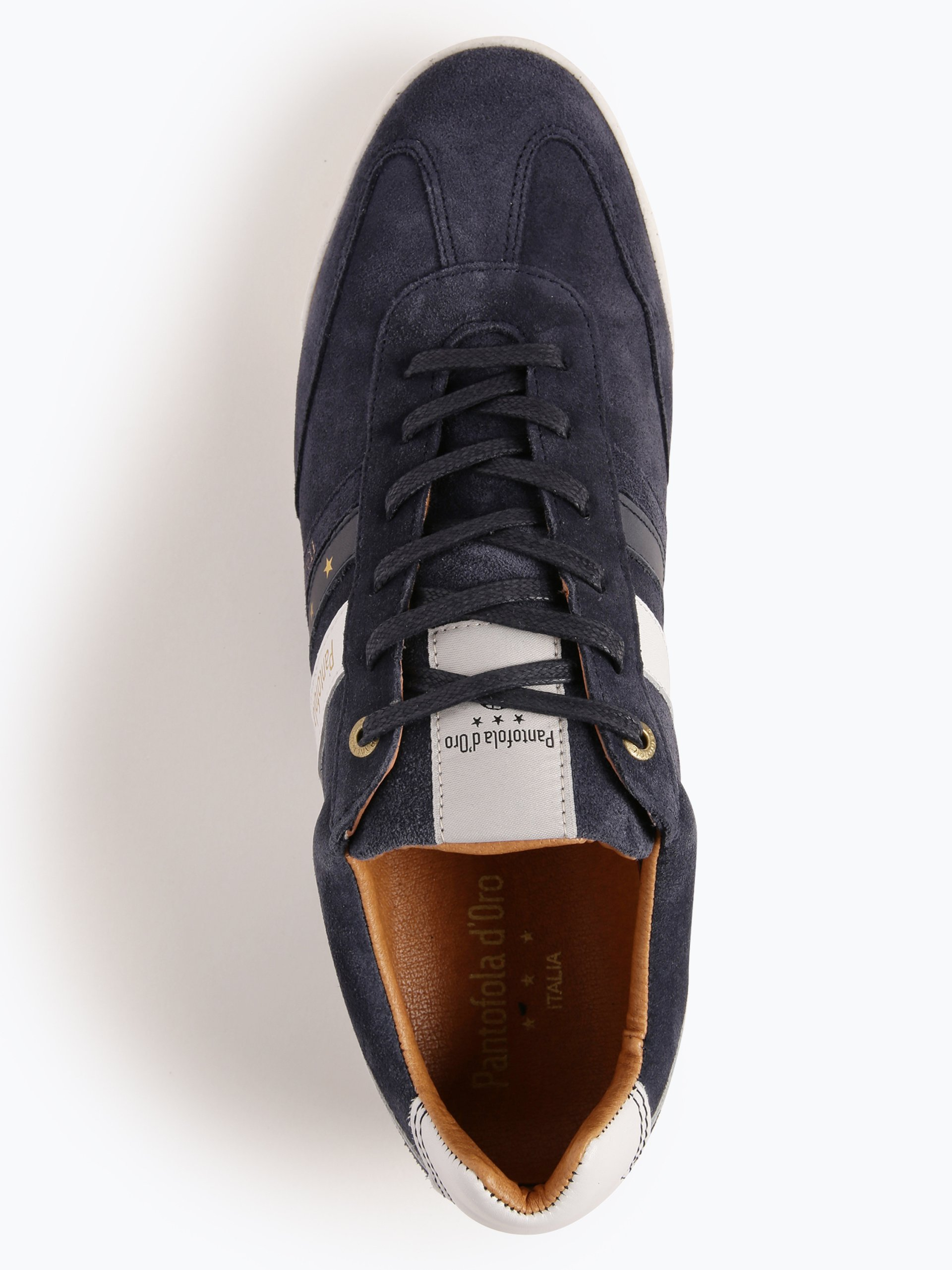 Pantofola d`Oro Męskie tenisówki ze skóry – Vasto