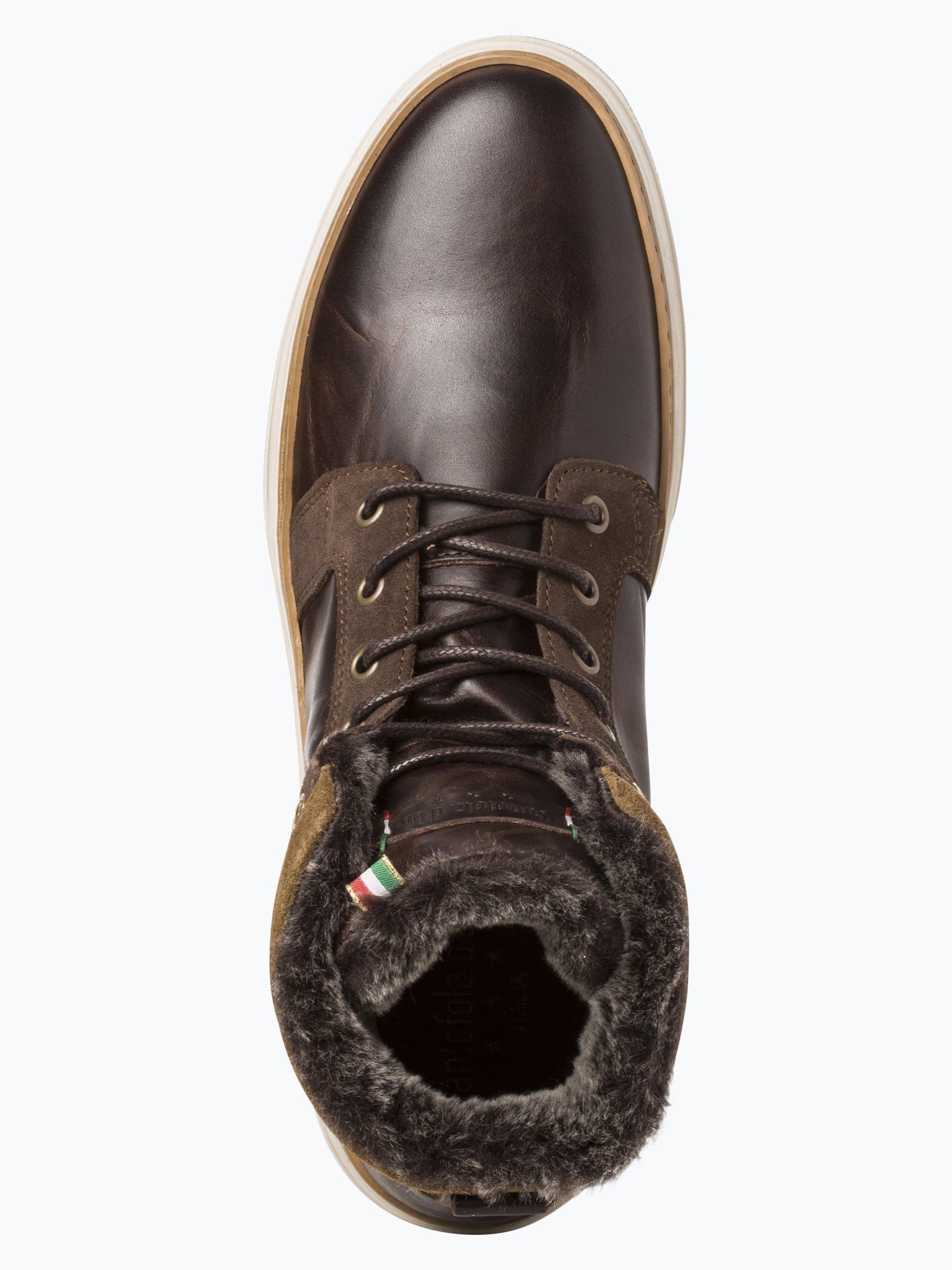 Pantofola d`Oro Męskie tenisówki ze skóry