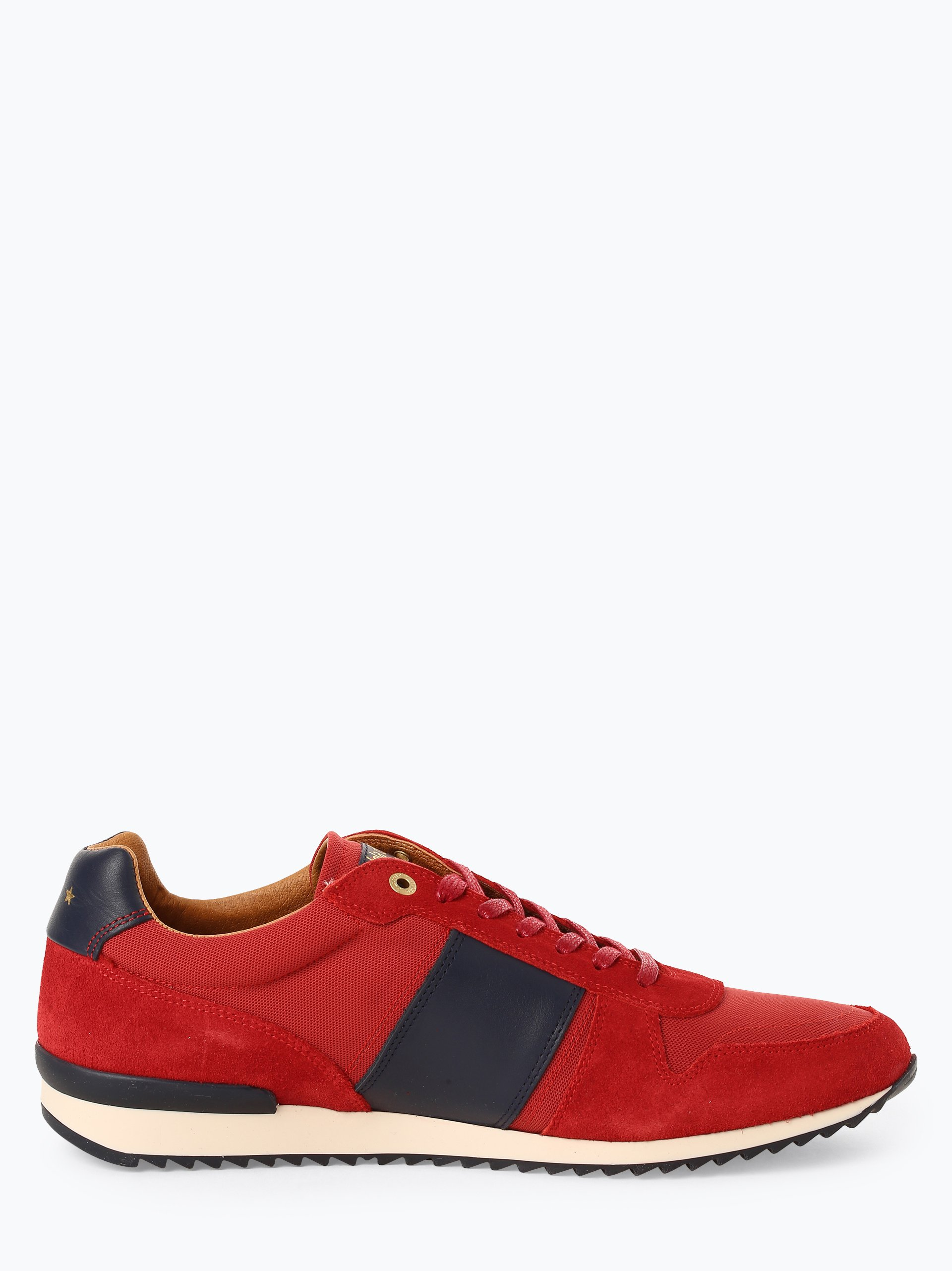 Pantofola d\'Oro Tenisówki męskie z dodatkiem skóry – Umito