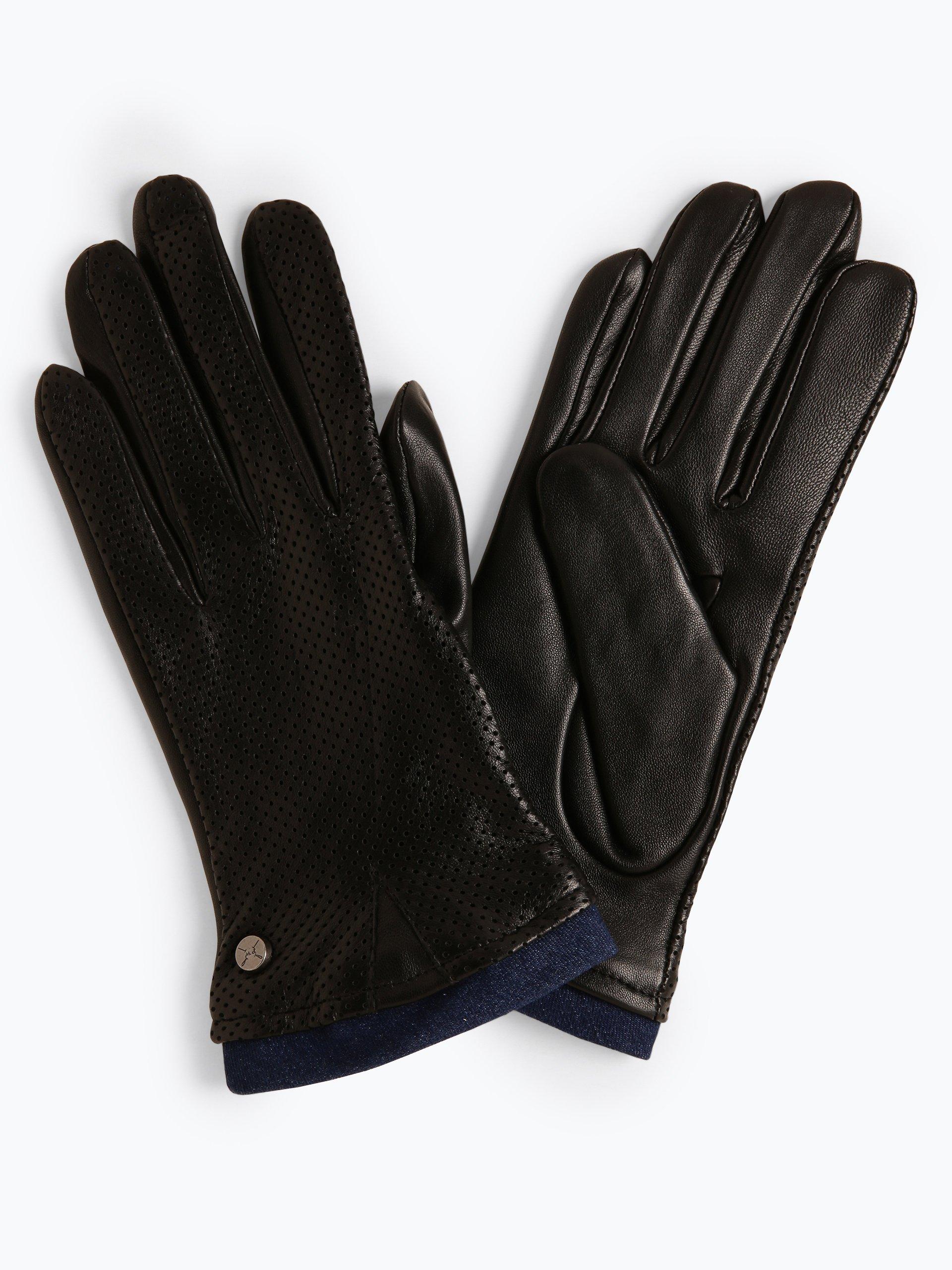 Pearlwood Rękawiczki damskie ze skóry