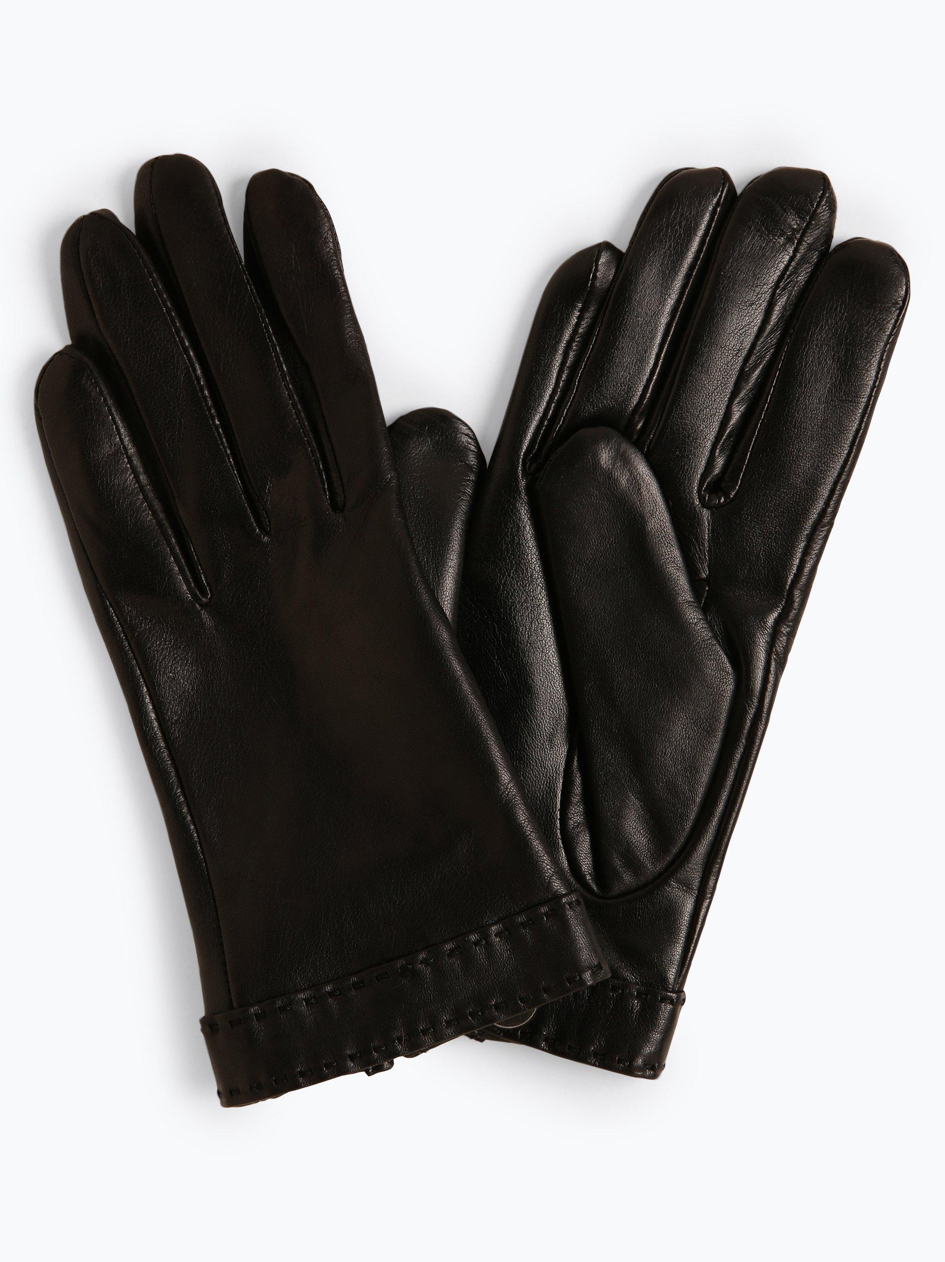 Pearlwood Skórzane rękawiczki damskie – Ann