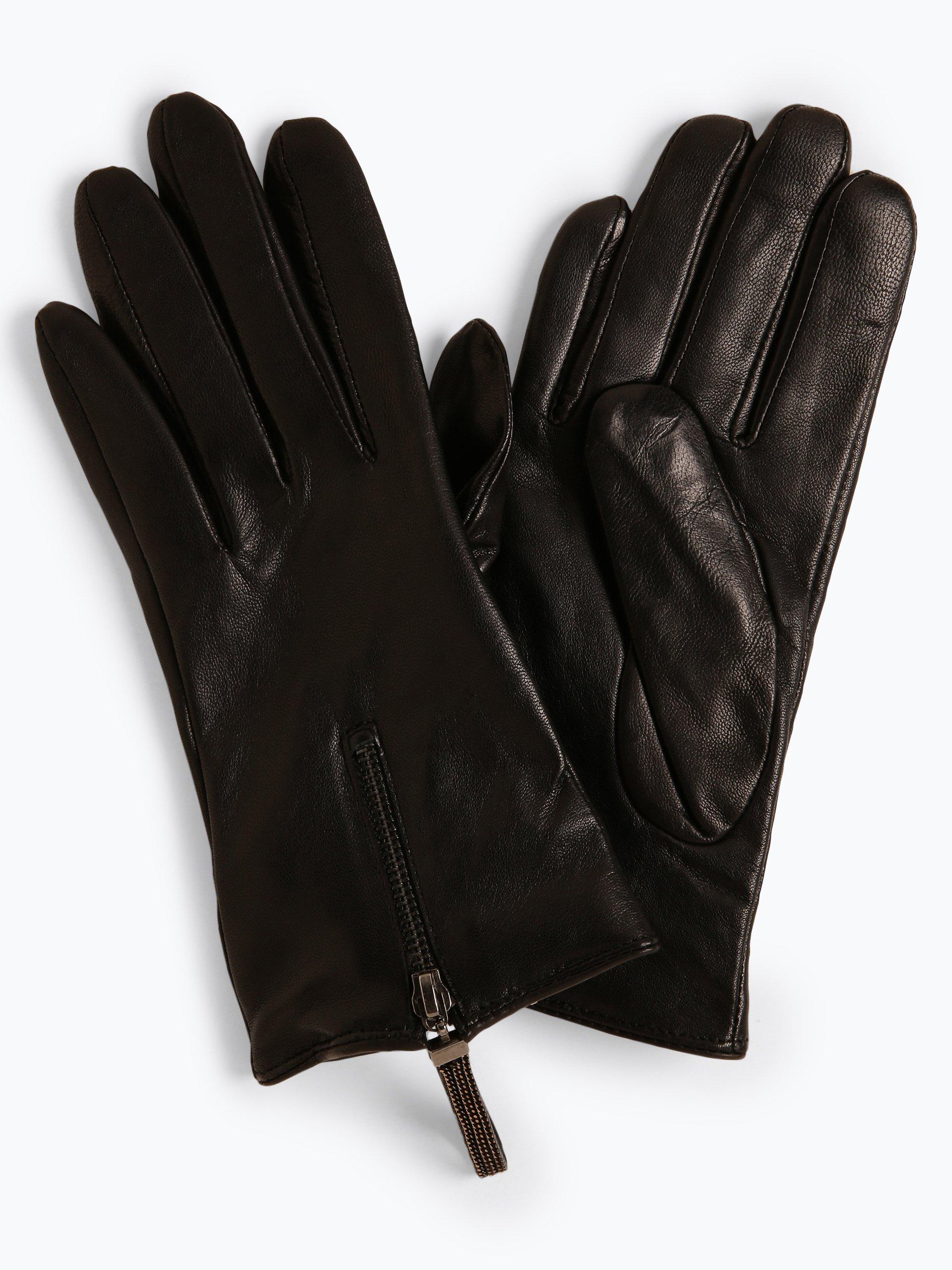 Pearlwood Skórzane rękawiczki damskie – Ellen