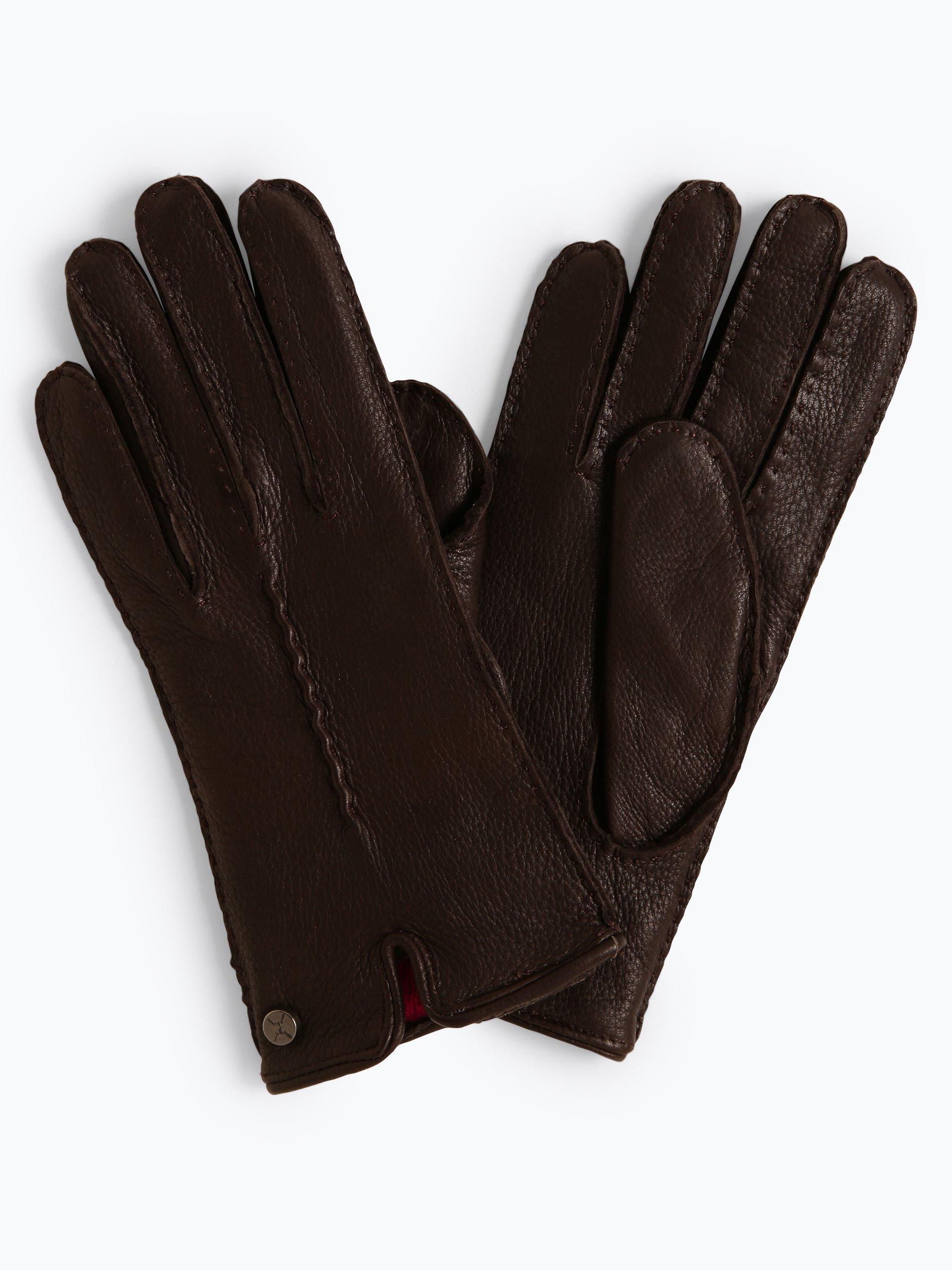 Pearlwood Skórzane rękawiczki damskie – Lucy