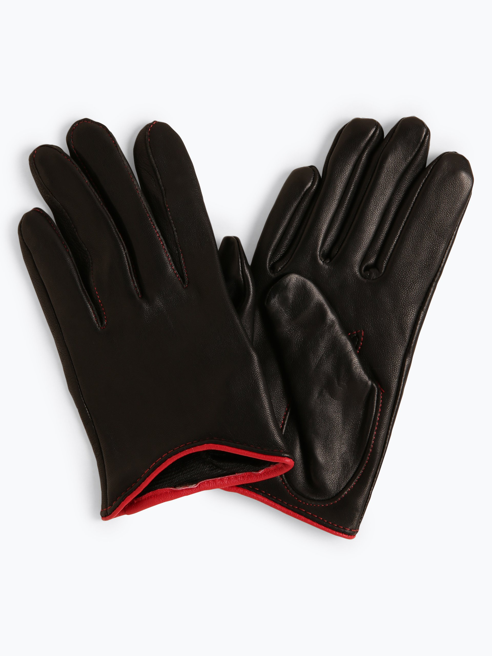 Pearlwood Skórzane rękawiczki damskie