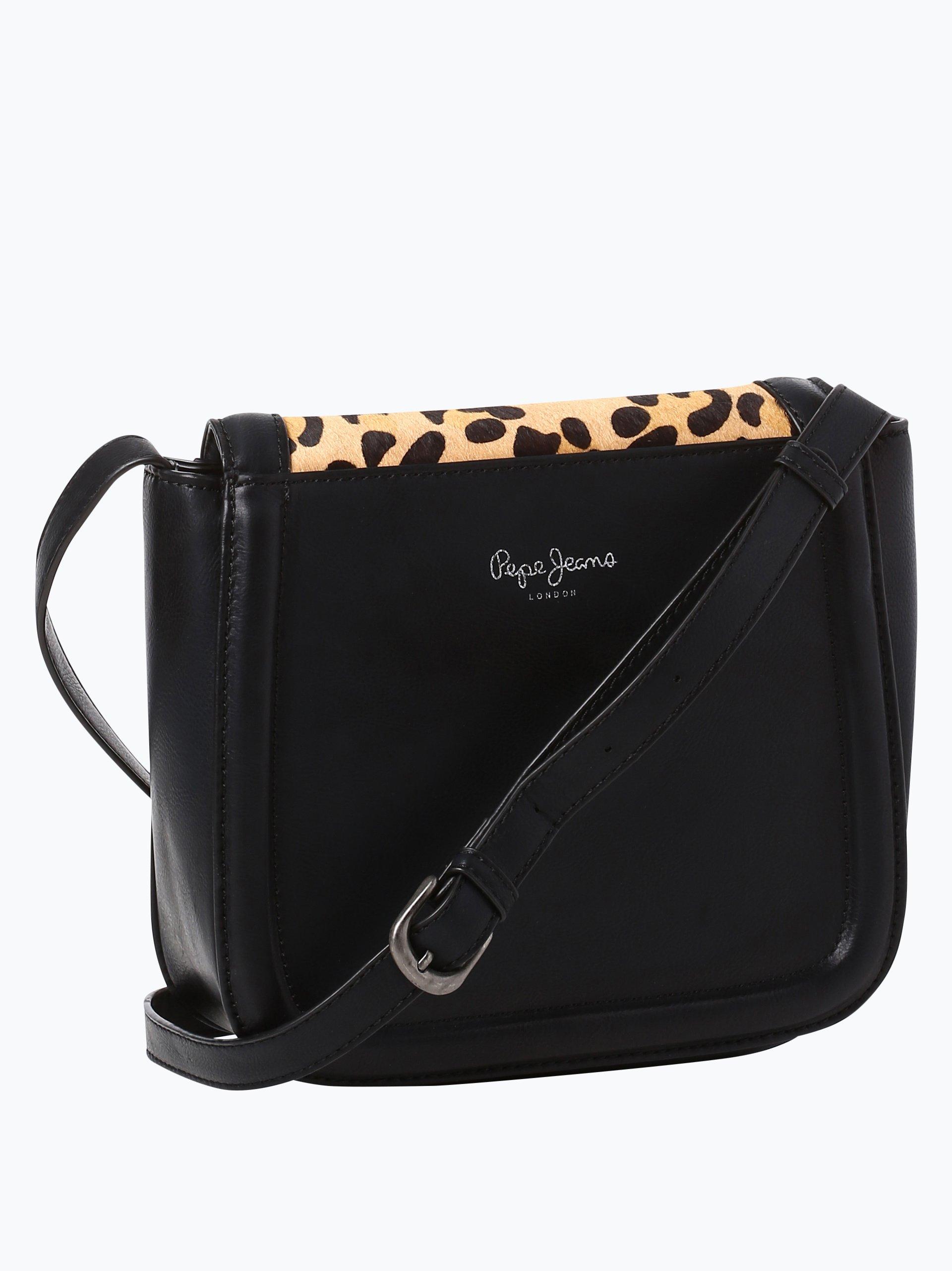 pepe jeans damen handtasche mit leder anteil taty bag. Black Bedroom Furniture Sets. Home Design Ideas