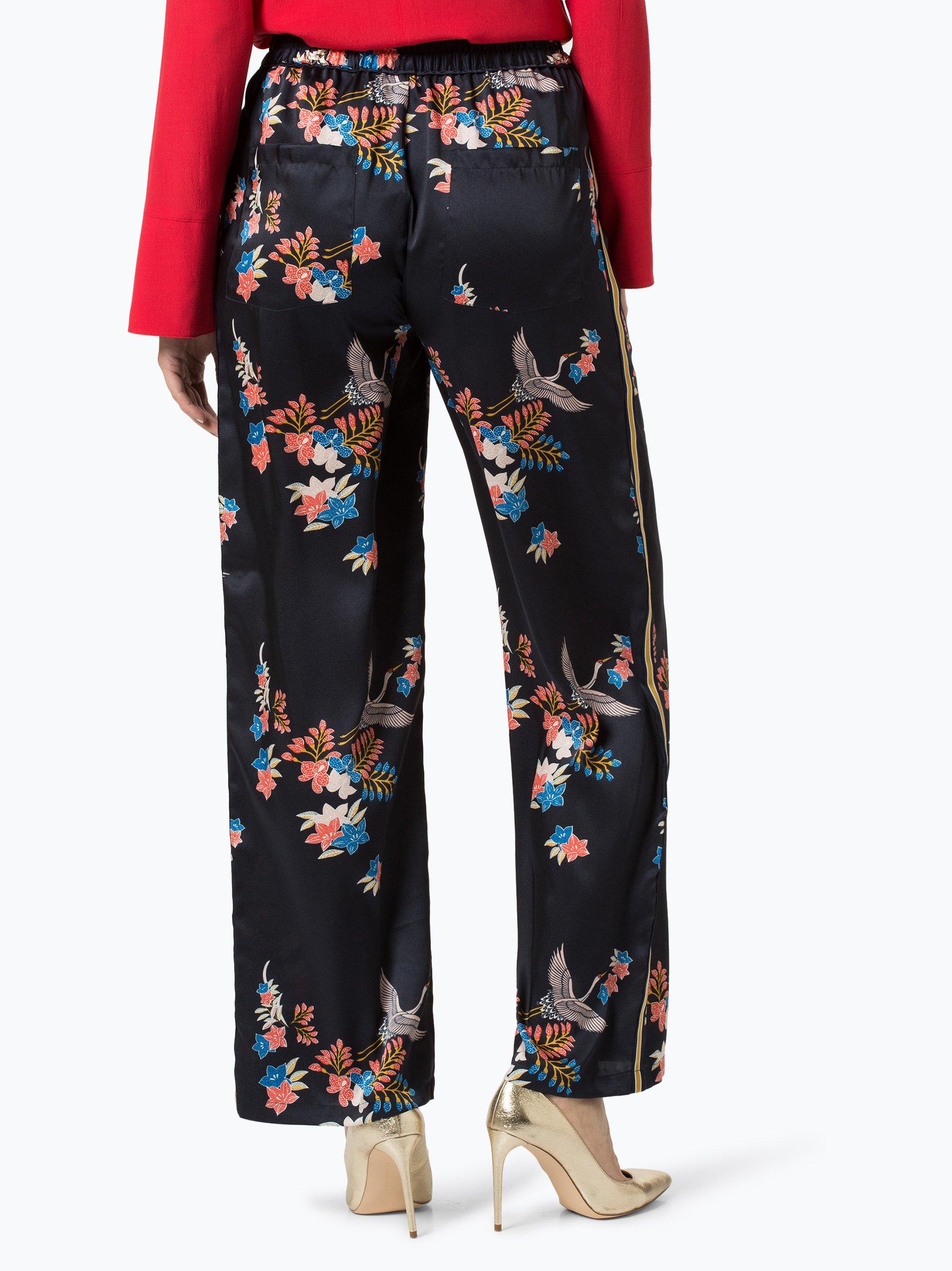 pepe jeans damen hose beea marine gemustert online kaufen vangraaf com. Black Bedroom Furniture Sets. Home Design Ideas