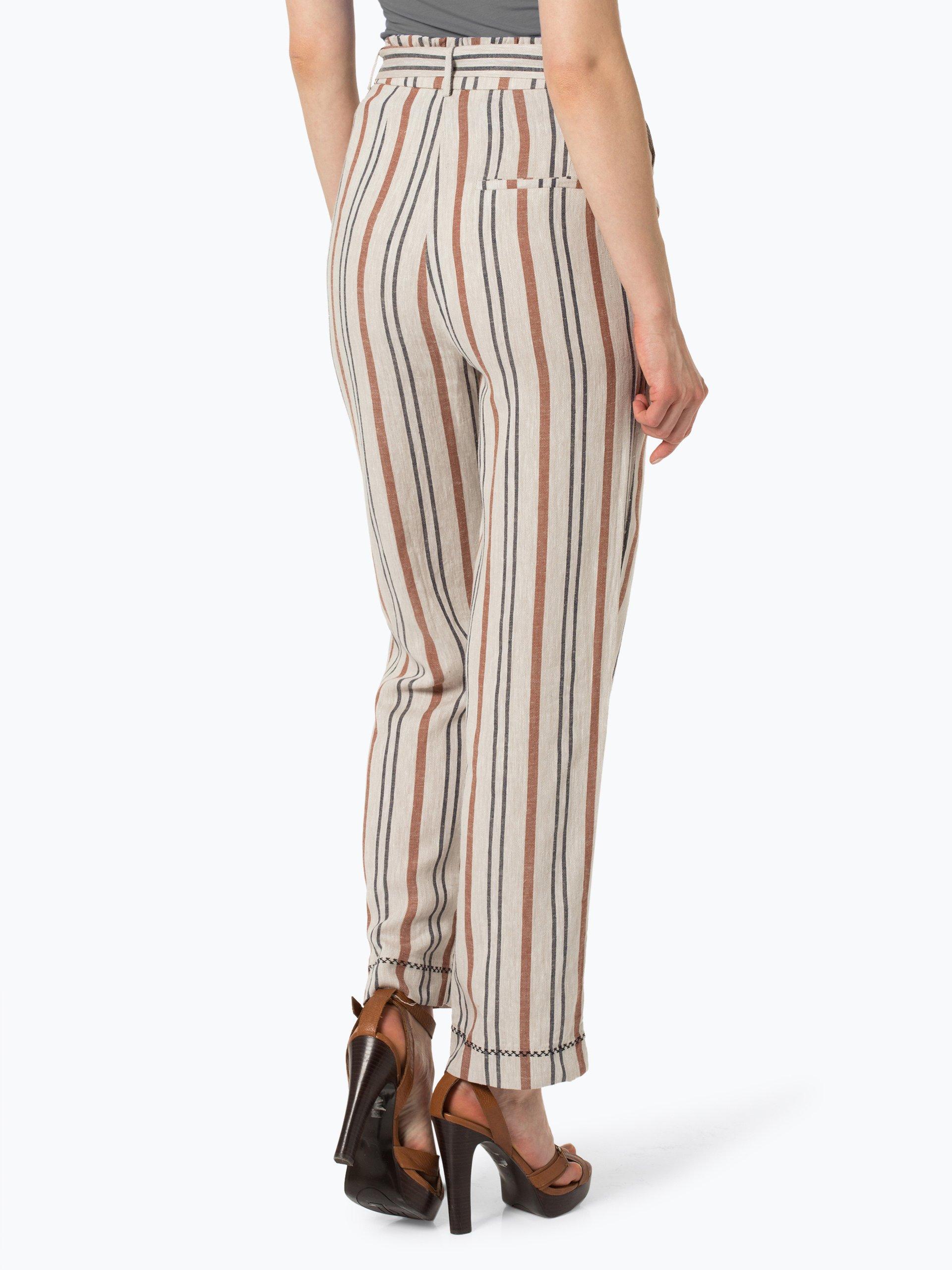 Pepe Jeans Damen Hose mit Leinen-Anteil - Linette