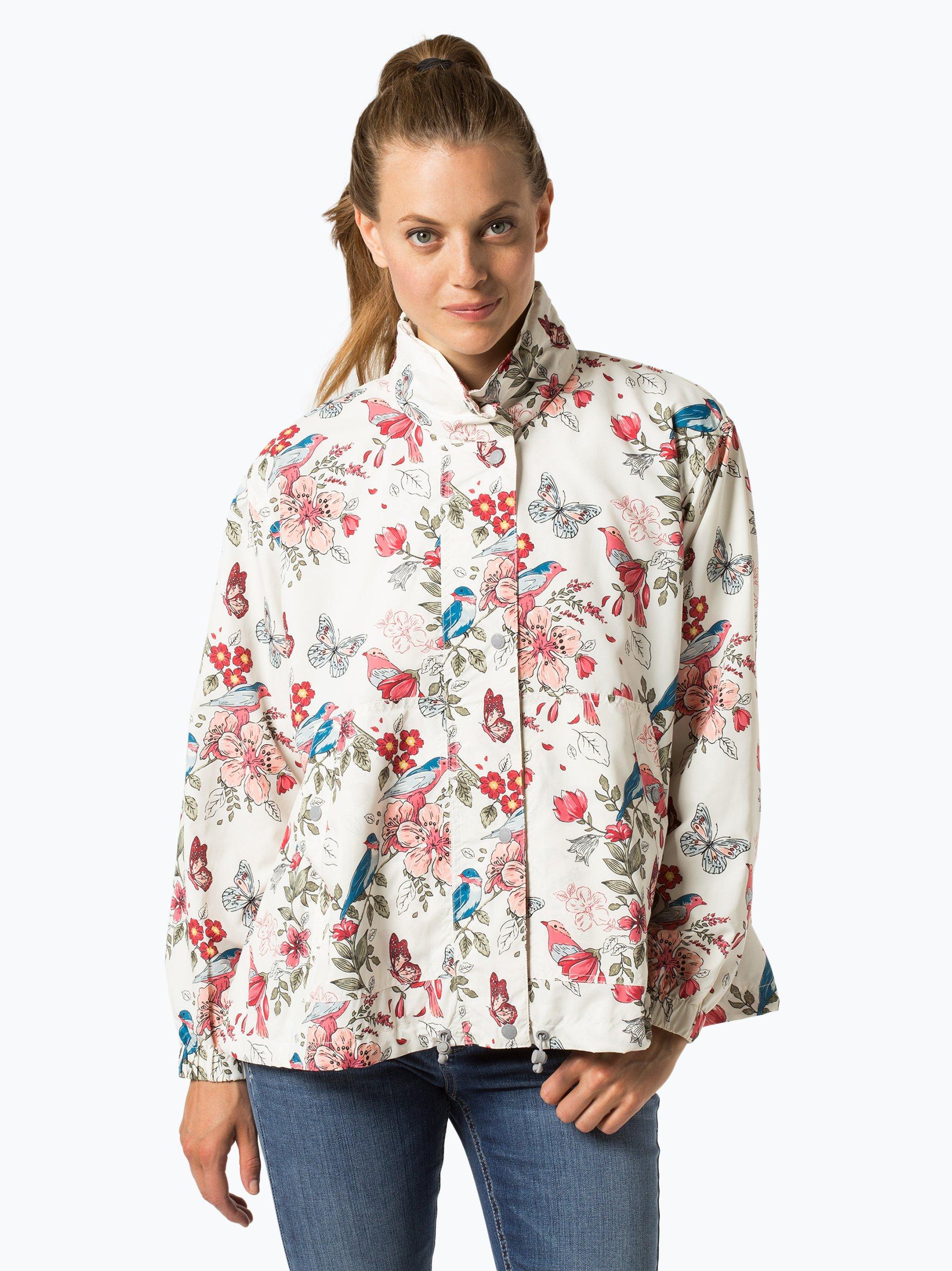 pepe jeans damen jacke jakna ecru rosa gemustert online kaufen peek und cloppenburg de. Black Bedroom Furniture Sets. Home Design Ideas