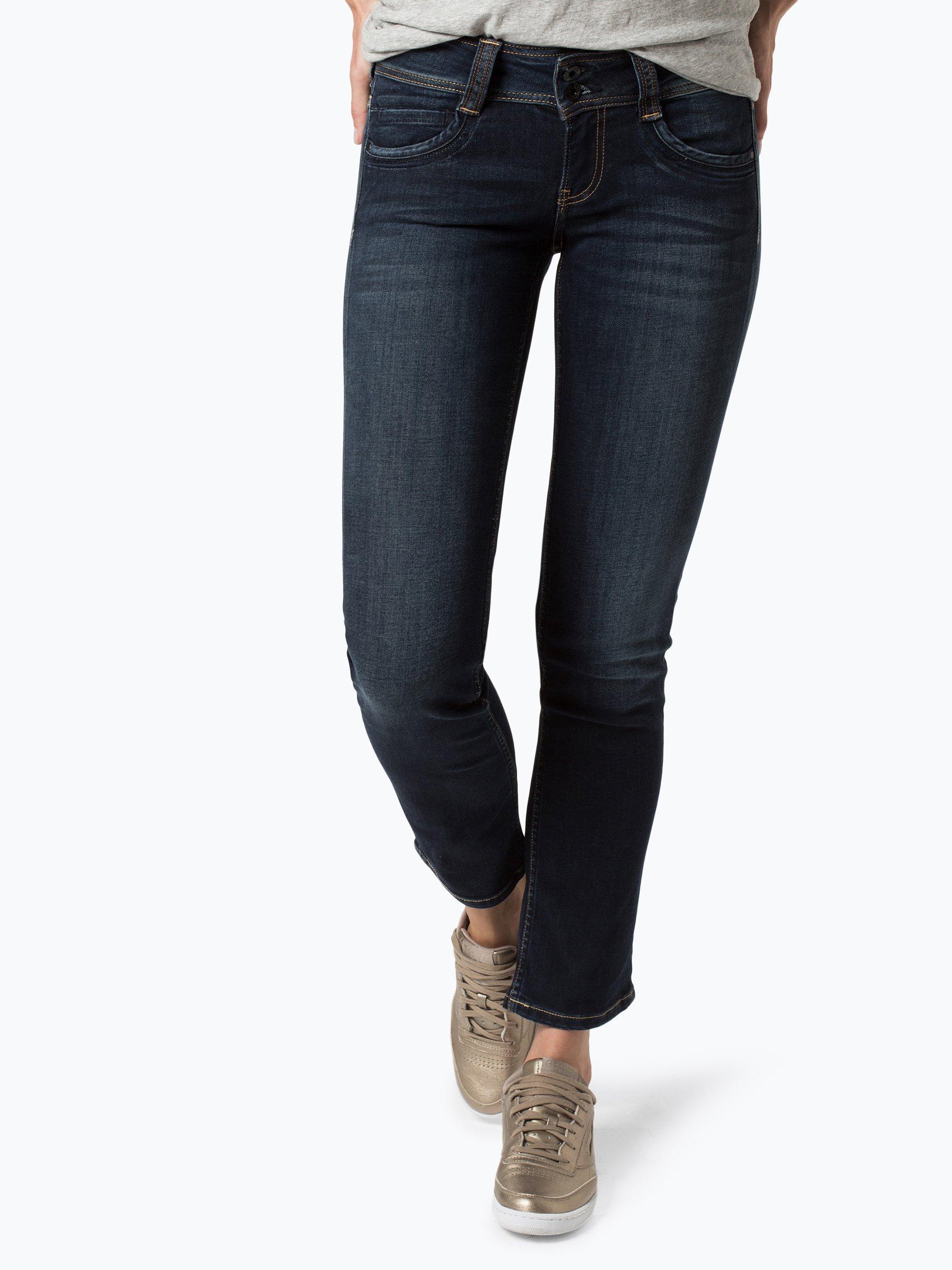 pepe jeans damen jeans gen marine uni online kaufen peek und cloppenburg de. Black Bedroom Furniture Sets. Home Design Ideas