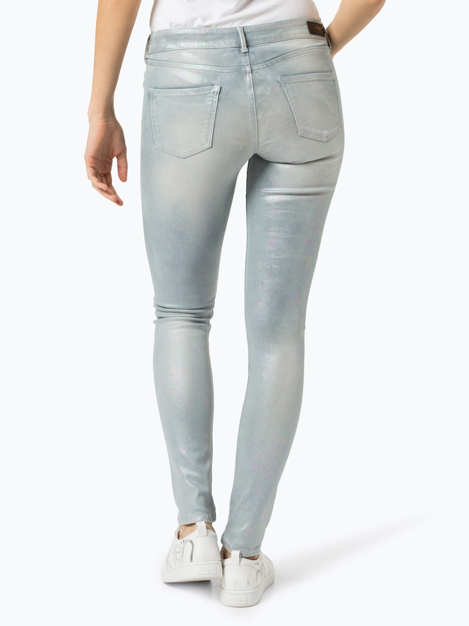 Pepe Jeans Damen Jeans - Pixie Holographic