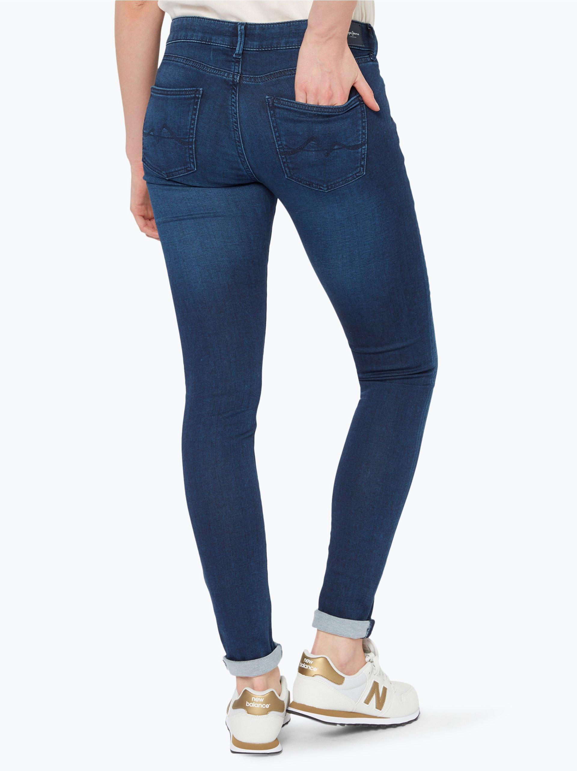pepe jeans damen jeans pixie marine uni online kaufen peek und cloppenburg de. Black Bedroom Furniture Sets. Home Design Ideas