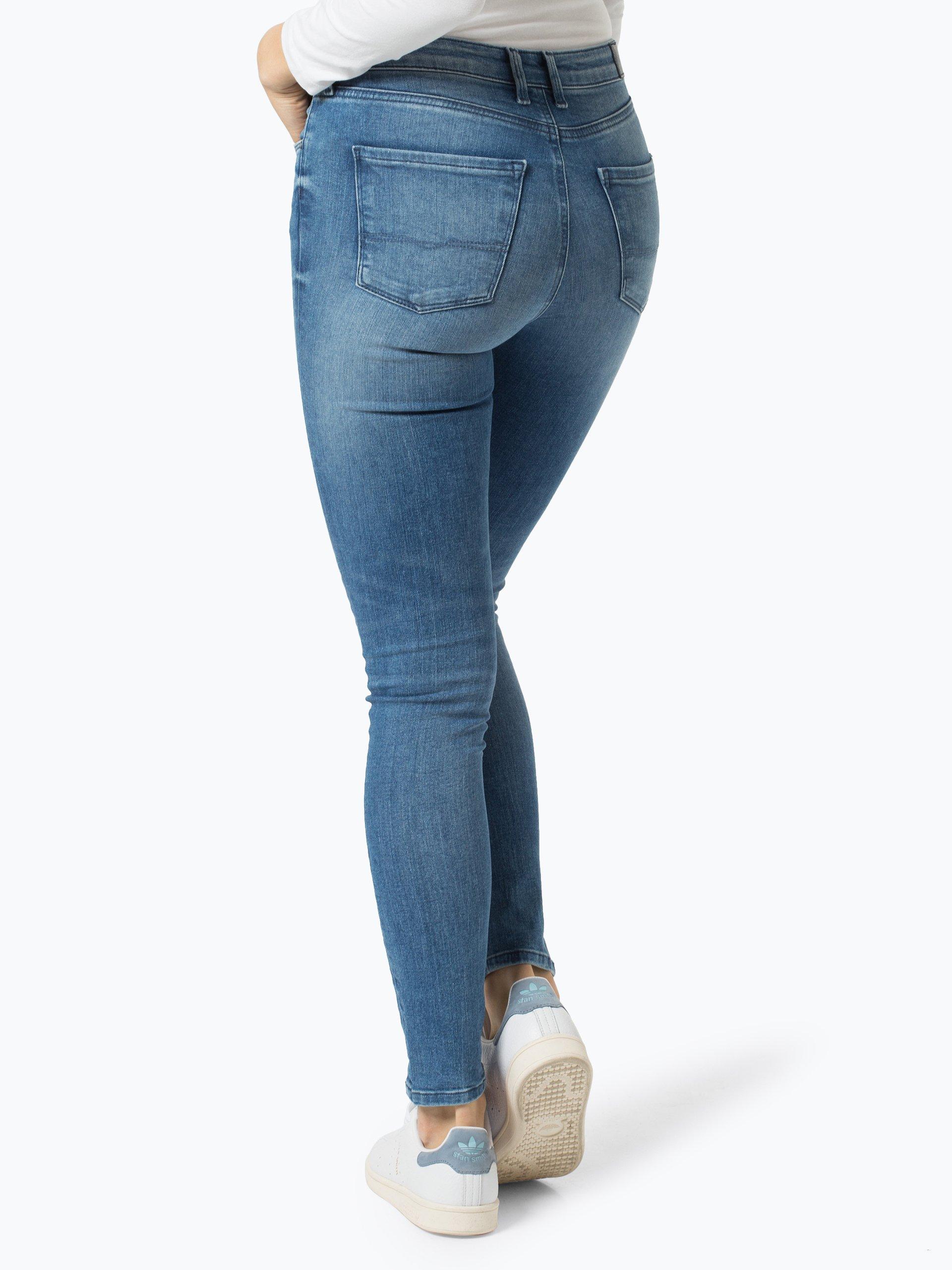 pepe jeans damen jeans regent blau uni online kaufen. Black Bedroom Furniture Sets. Home Design Ideas