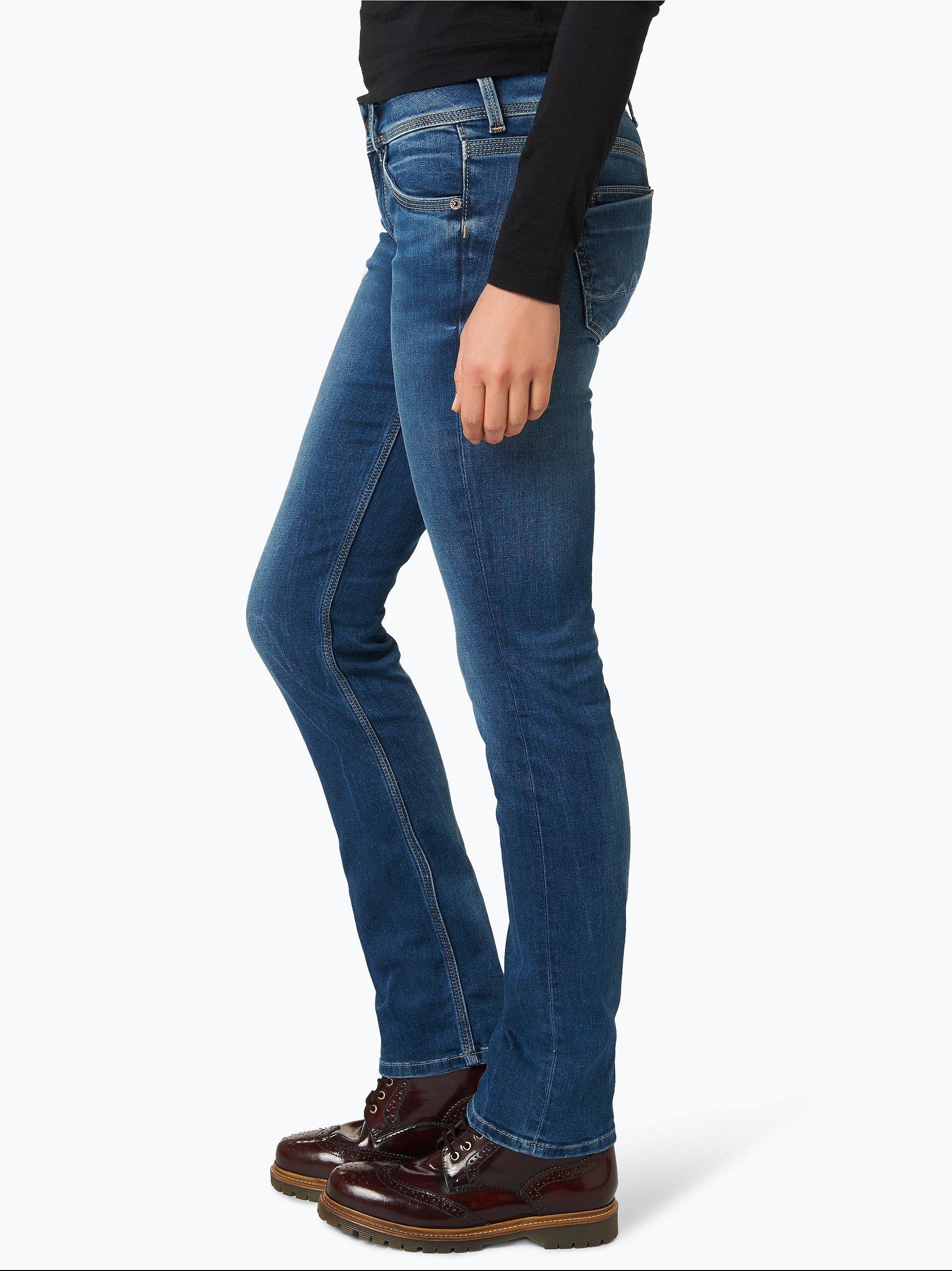 pepe jeans damen jeans saturn blau uni online kaufen peek und cloppenburg de. Black Bedroom Furniture Sets. Home Design Ideas