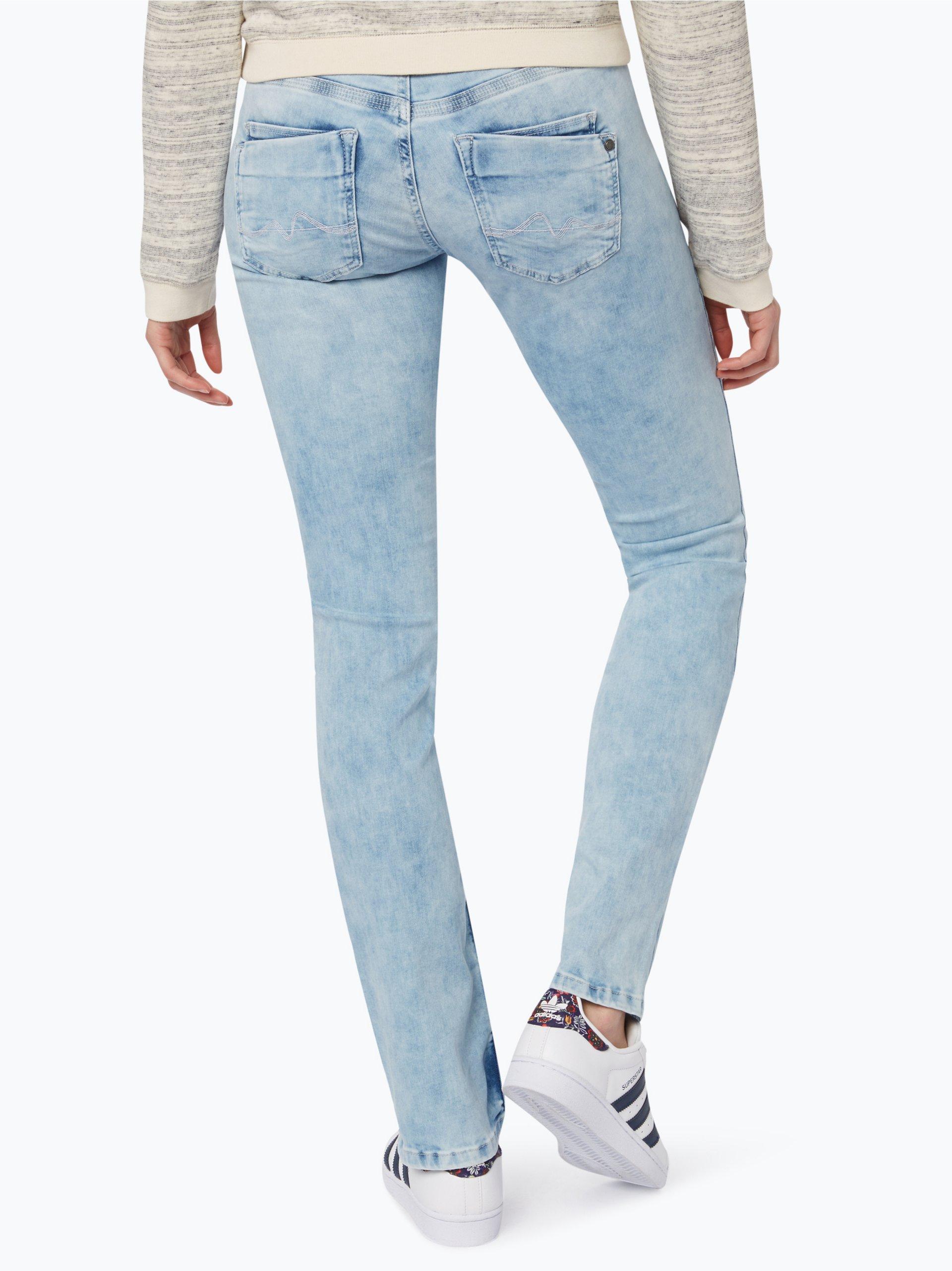pepe jeans damen jeans saturn hellblau blau uni online kaufen vangraaf com. Black Bedroom Furniture Sets. Home Design Ideas