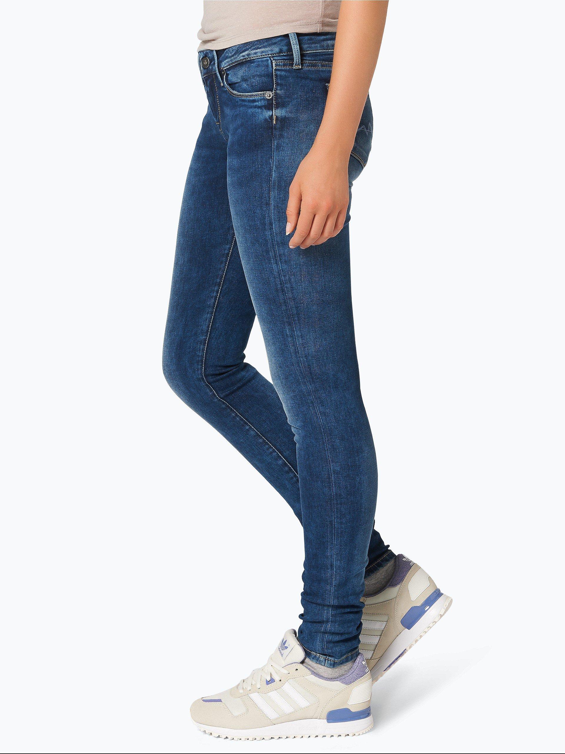 pepe jeans damen jeans soho blau uni online kaufen. Black Bedroom Furniture Sets. Home Design Ideas