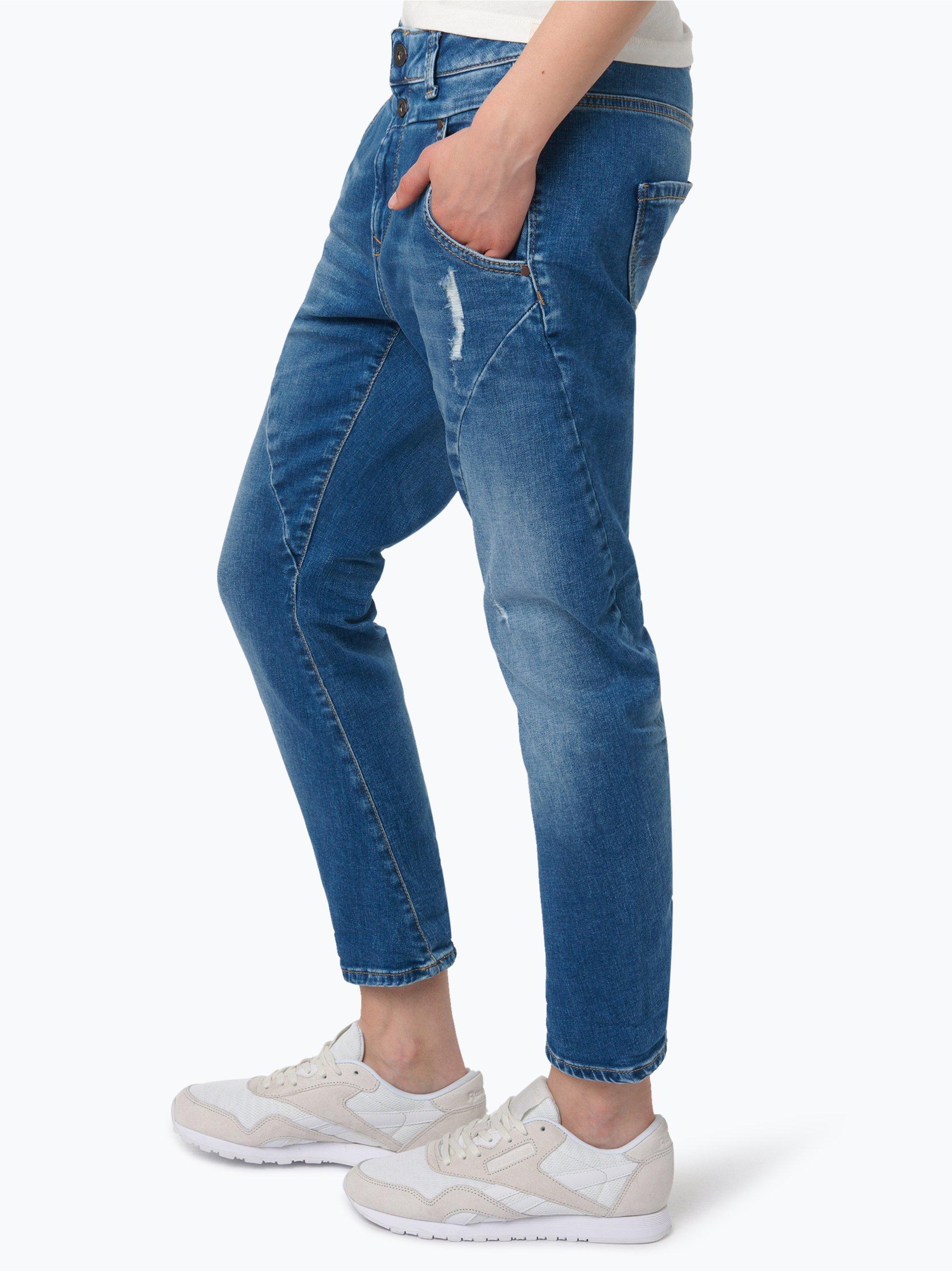 pepe jeans damen jeans topsy blau uni online kaufen vangraaf com. Black Bedroom Furniture Sets. Home Design Ideas