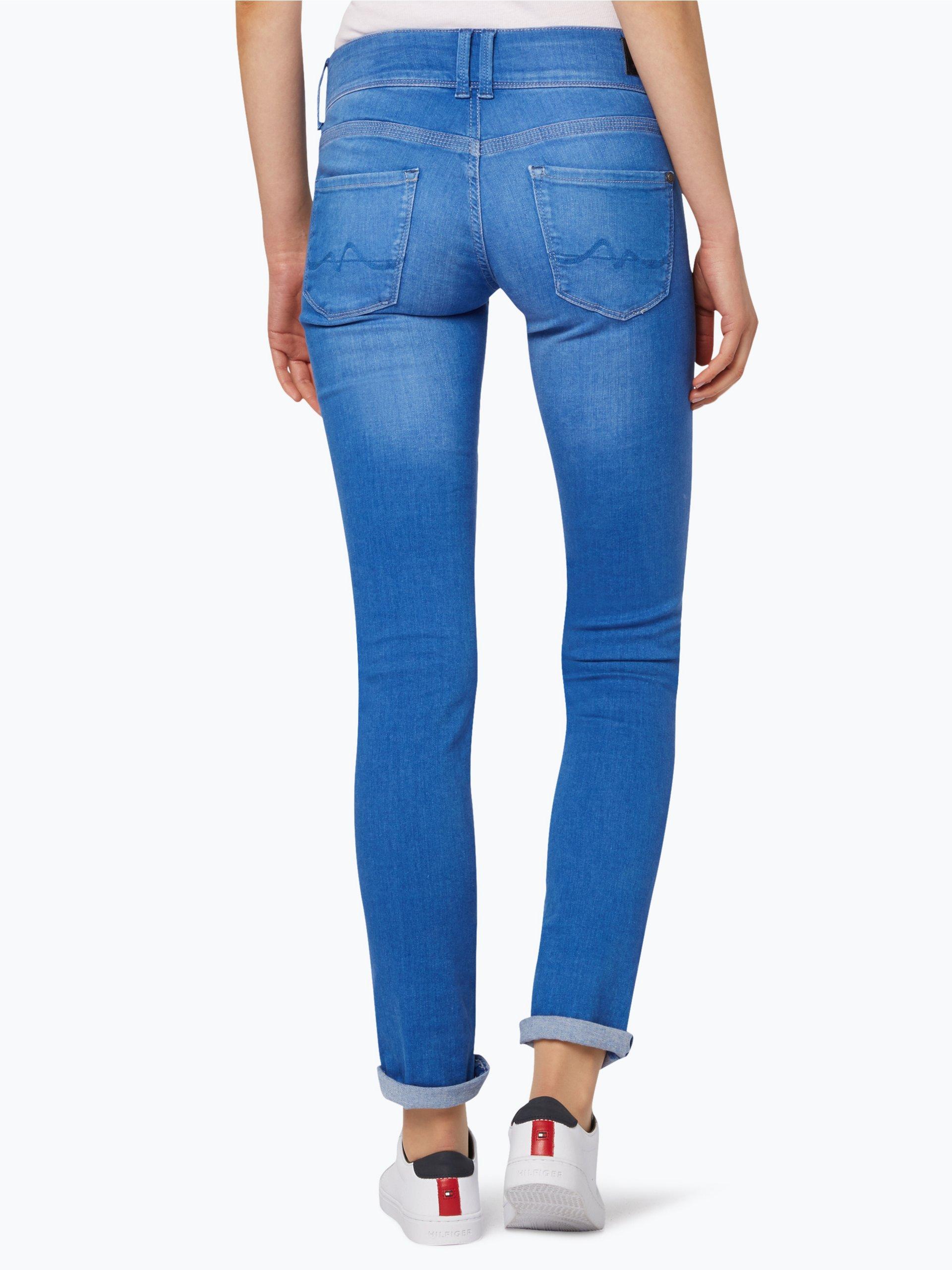 pepe jeans damen jeans vera blau uni online kaufen peek und cloppenburg de. Black Bedroom Furniture Sets. Home Design Ideas
