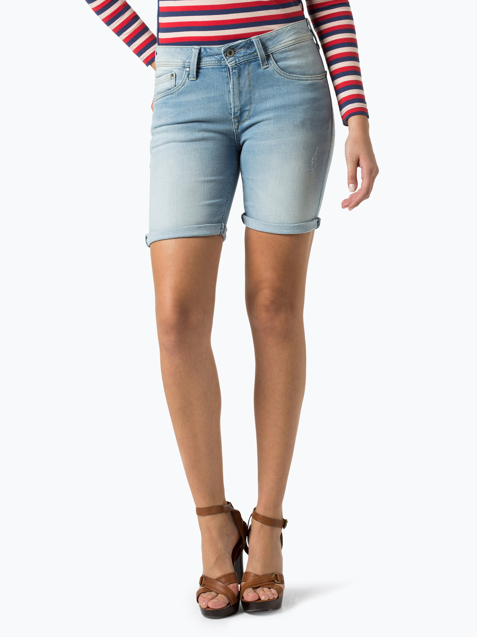 pepe jeans damen jeansshorts poppy 2 online kaufen peek und cloppenburg de. Black Bedroom Furniture Sets. Home Design Ideas
