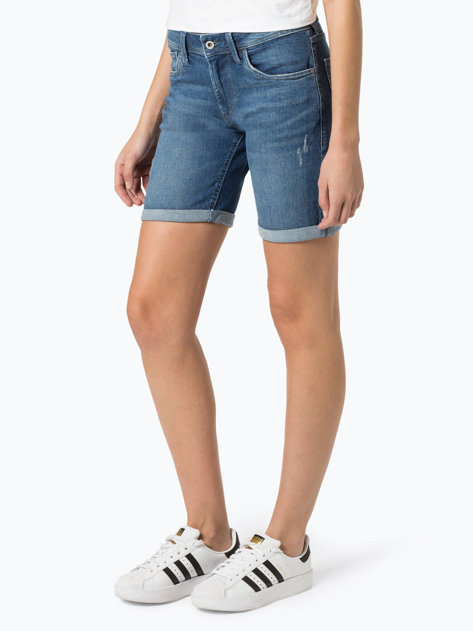 Pepe Jeans Damen Jeansshorts - Poppy