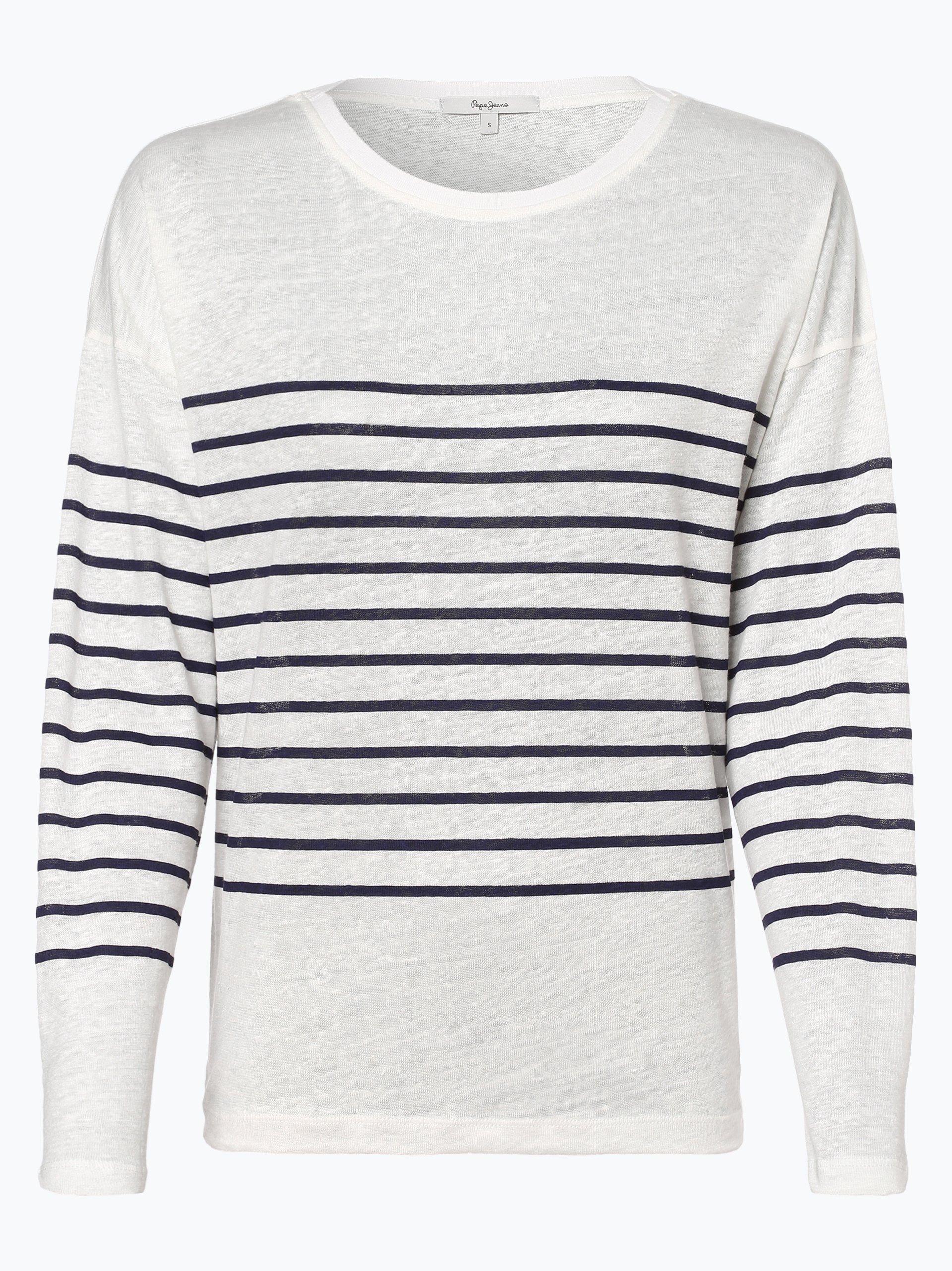 Pepe Jeans Damen Leinenshirt - Oyster