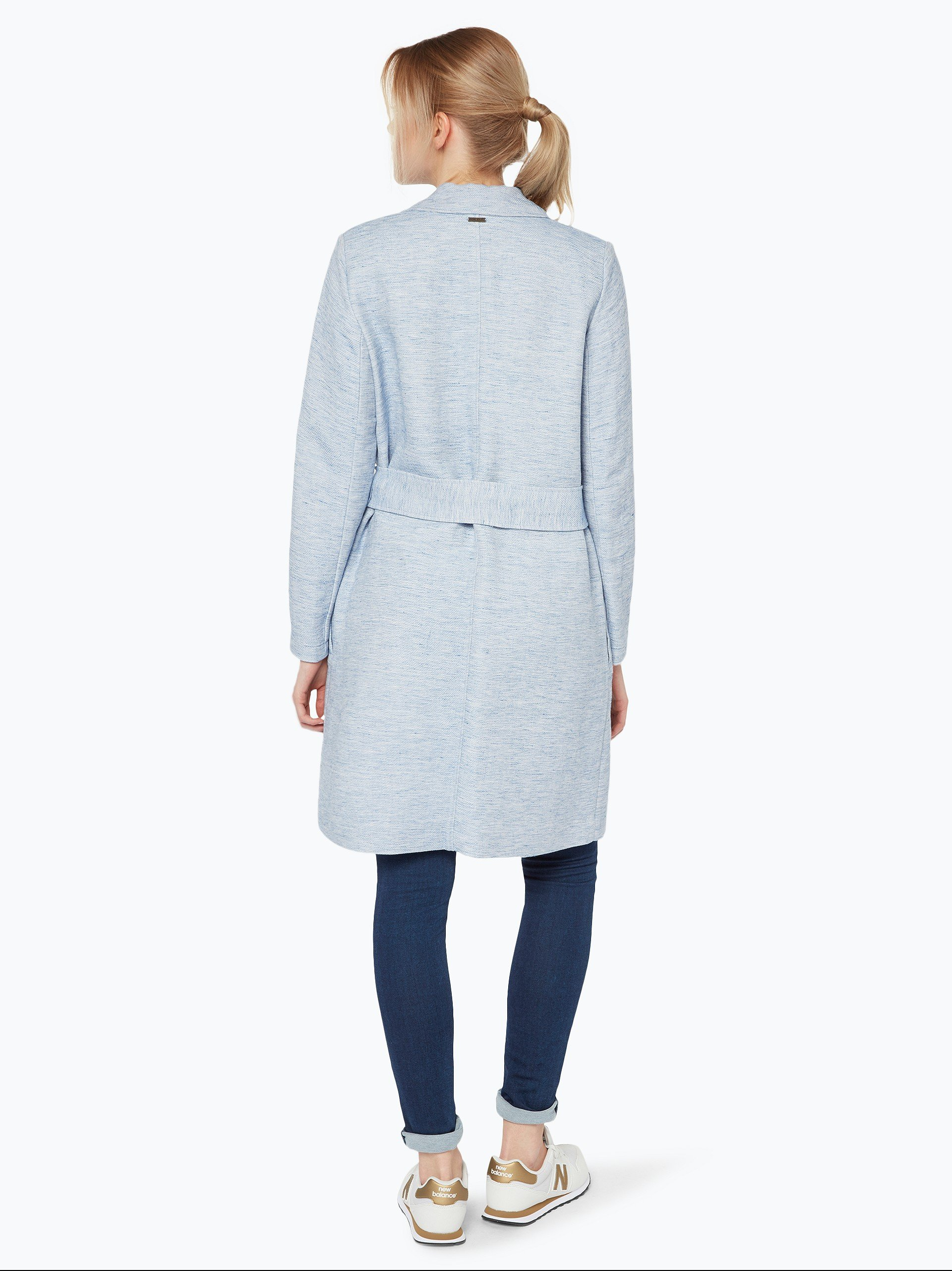pepe jeans damen mantel mit leinen anteil karol hellblau. Black Bedroom Furniture Sets. Home Design Ideas