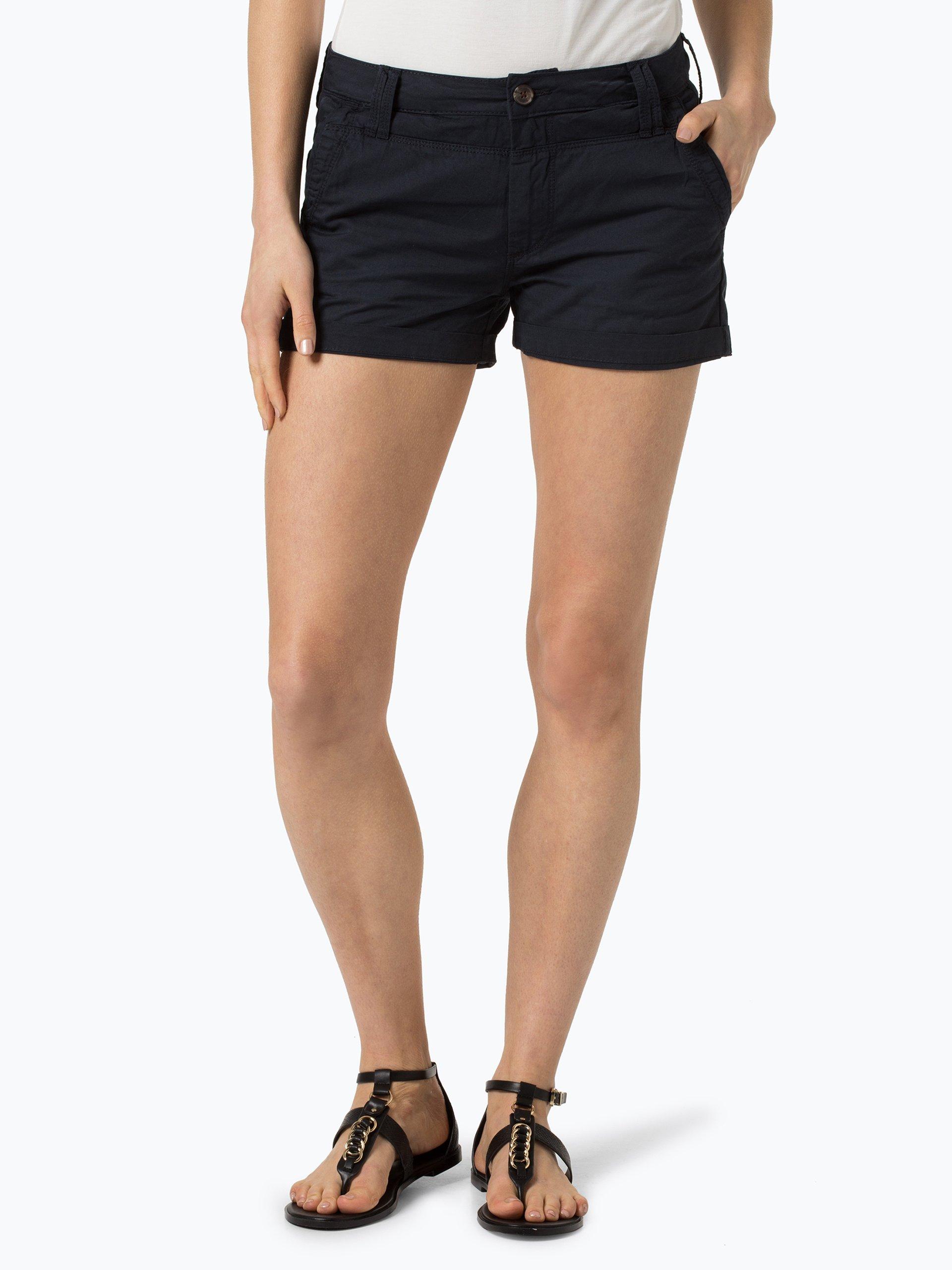 pepe jeans damen shorts balboa marine uni online kaufen vangraaf com. Black Bedroom Furniture Sets. Home Design Ideas