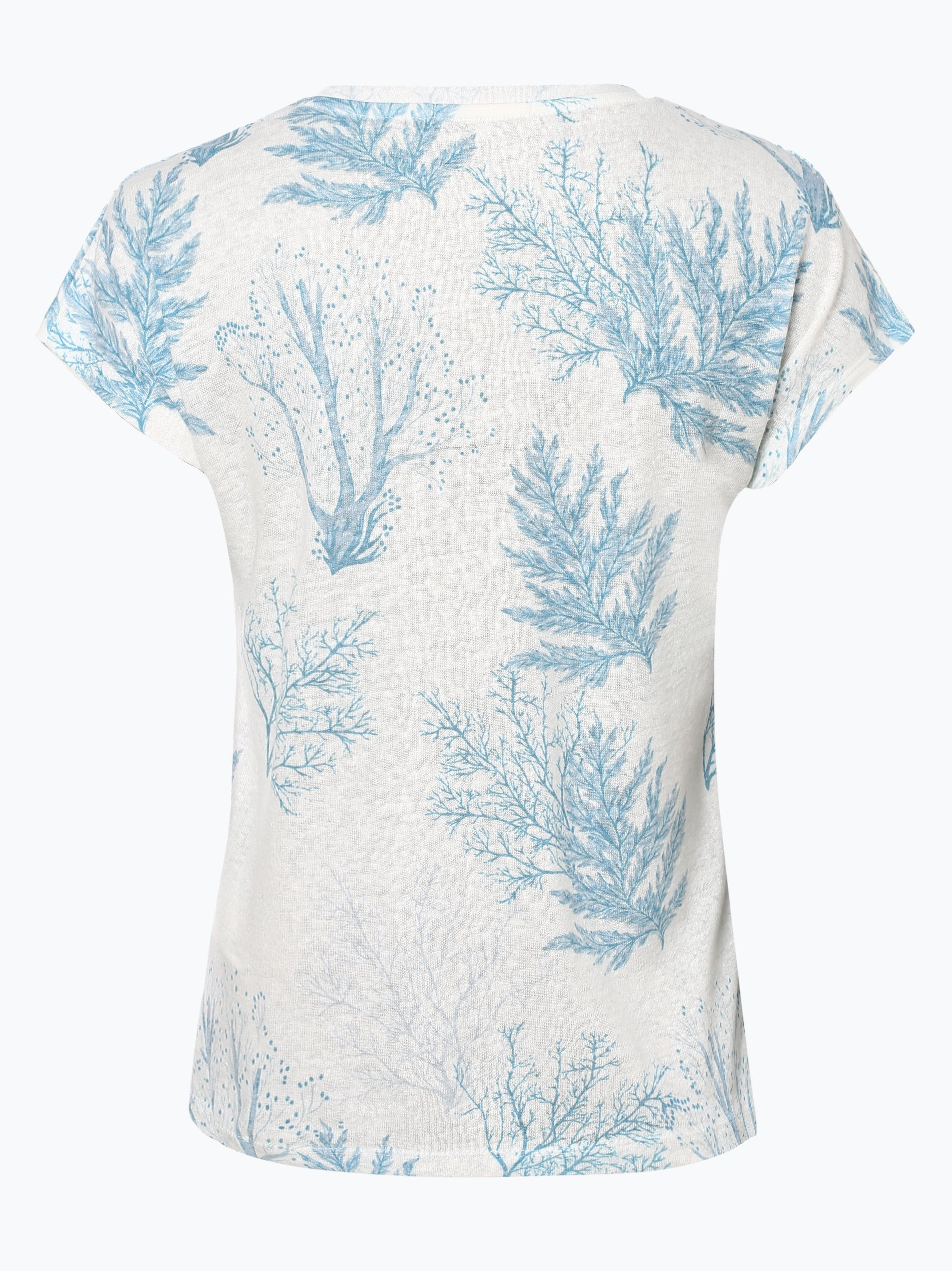 Pepe Jeans Damen T-Shirt mit Leinen-Anteil - Avril