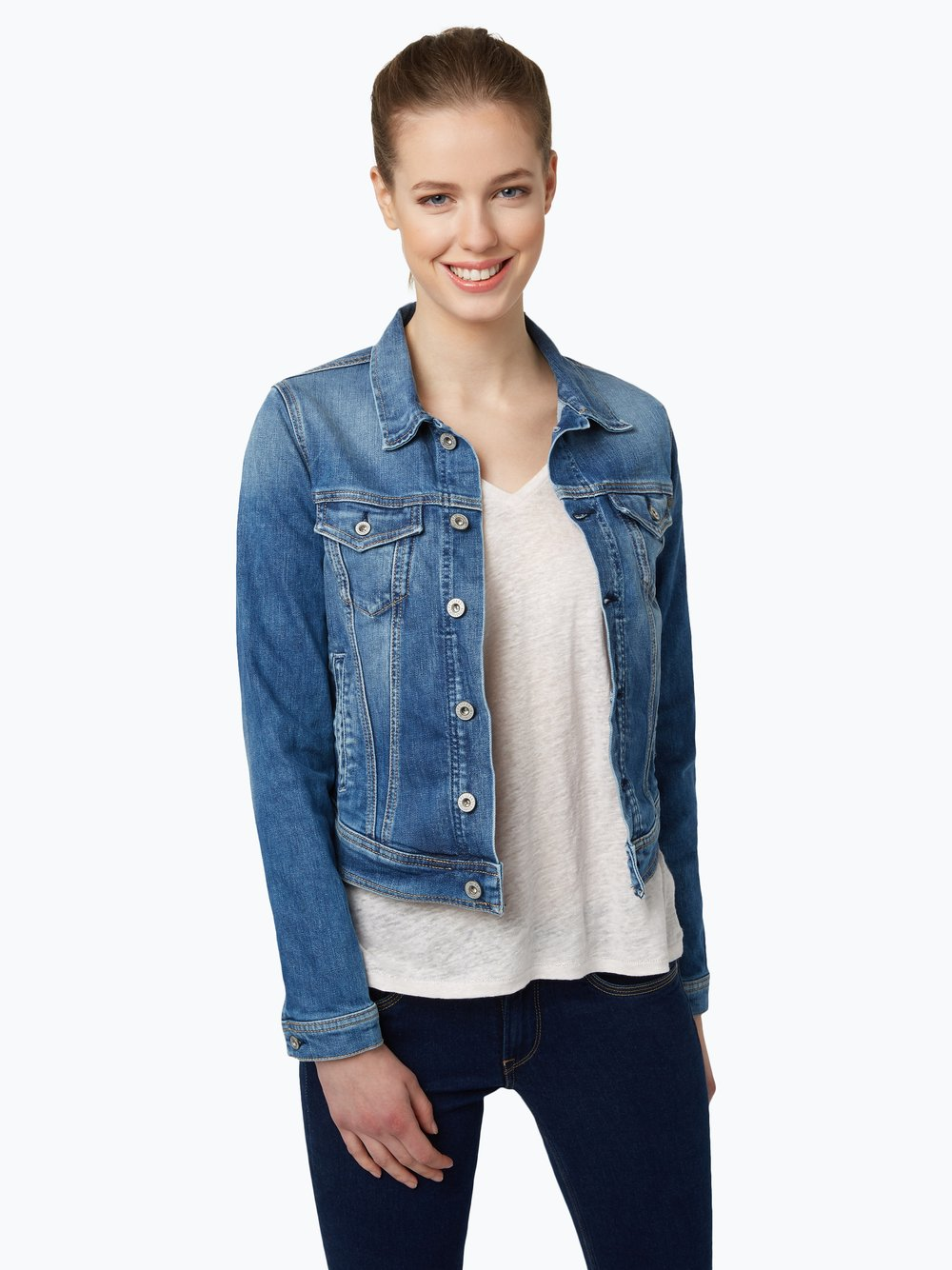 6ca5cd89 Pepe Jeans Damska kurtka jeansowa kup online | VANGRAAF.COM