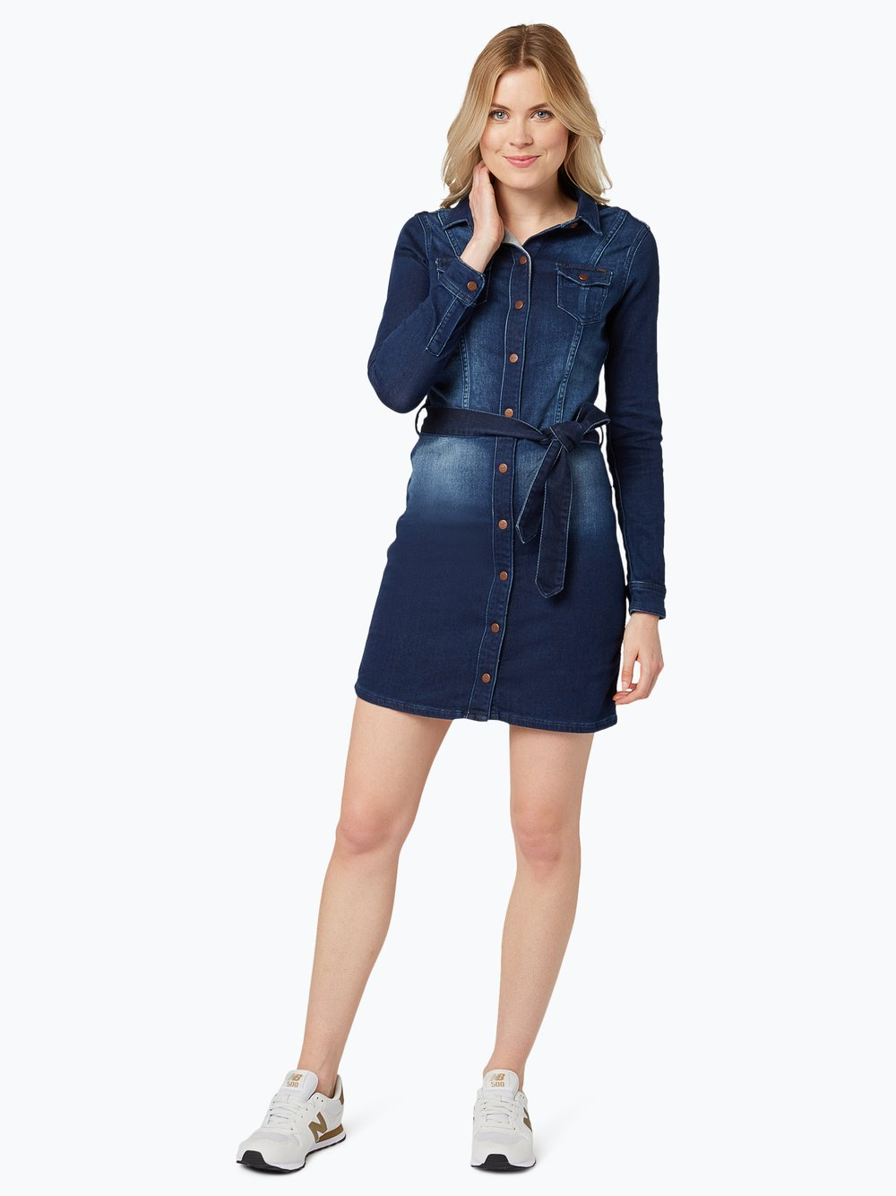 01ce1f427c Pepe Jeans Damska sukienka jeansowa - Nicole kup online