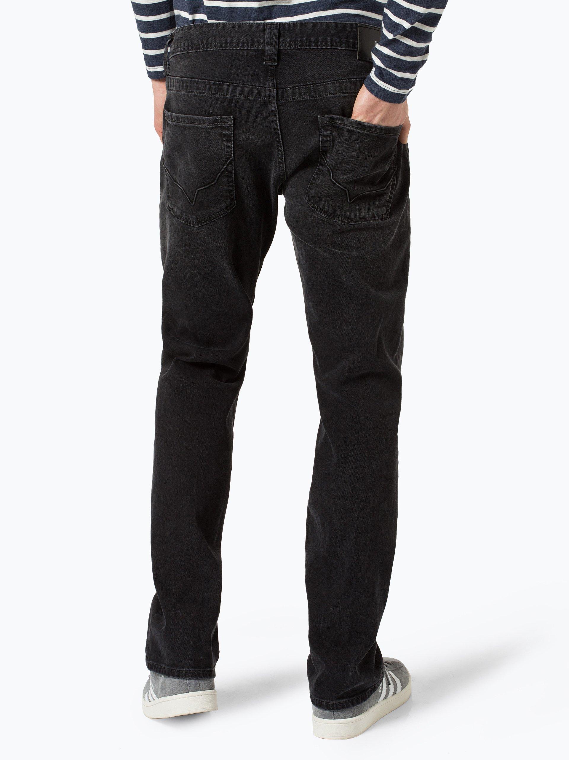 pepe jeans herren jeans kingston schwarz uni online kaufen peek und cloppenburg de. Black Bedroom Furniture Sets. Home Design Ideas