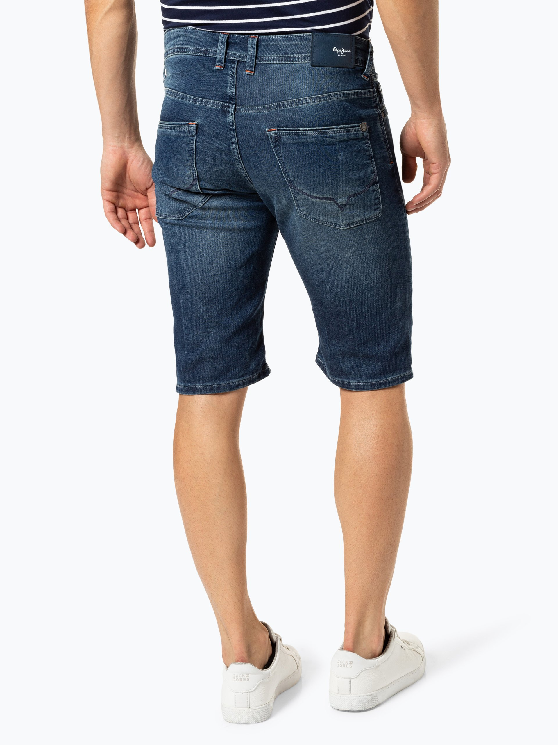 Pepe Jeans Herren Jeansshorts - Cage