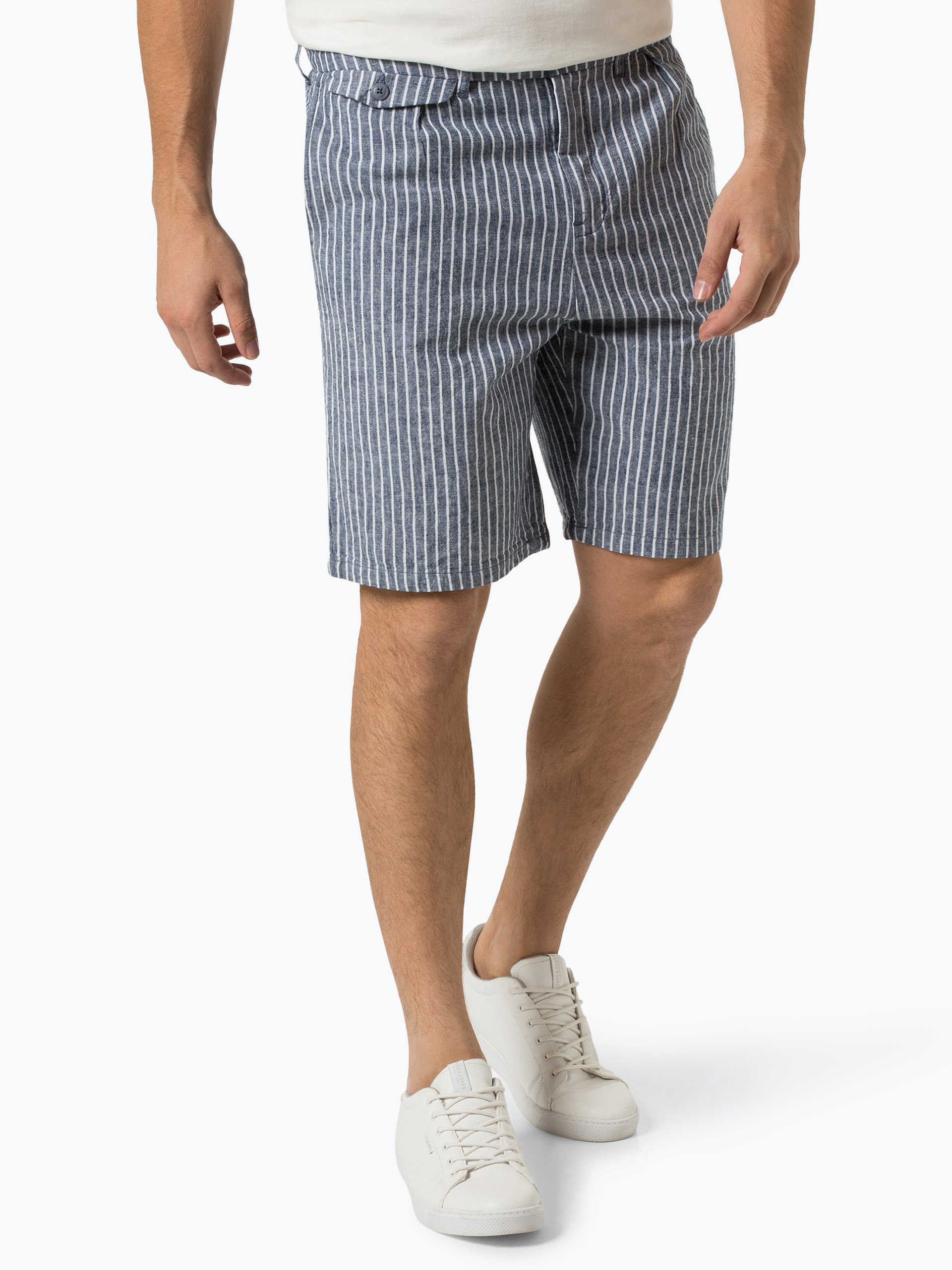 Pepe Jeans Herren Shorts mit Leinen-Anteil - Dean