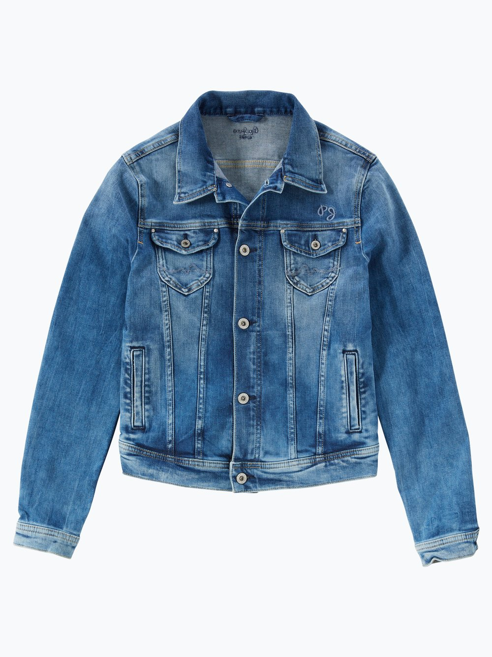 buy online c62fe ad78a Pepe Jeans Mädchen Jeansjacke - New Berry online kaufen ...