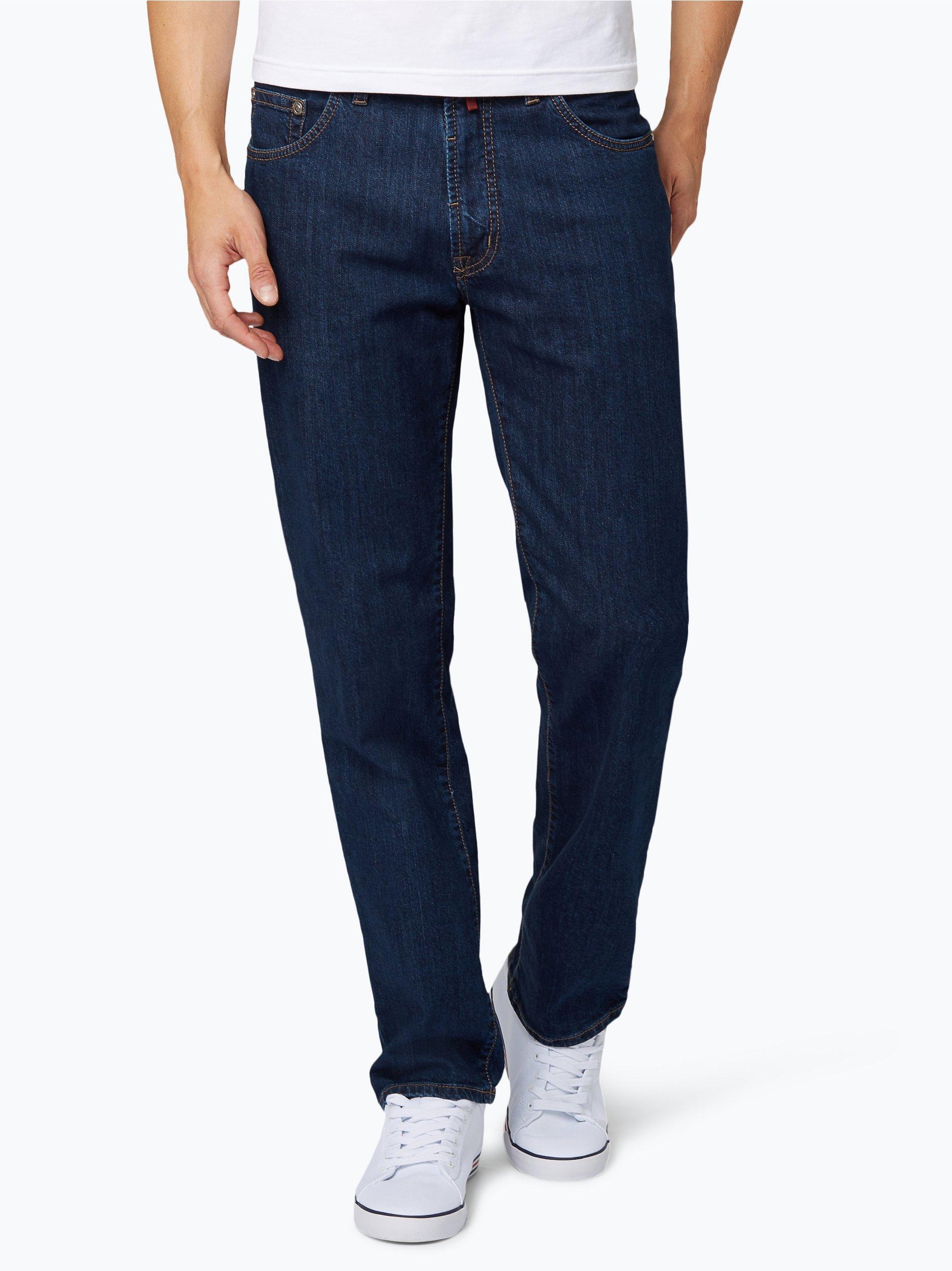 pierre cardin herren jeans dijon dark stone uni online. Black Bedroom Furniture Sets. Home Design Ideas
