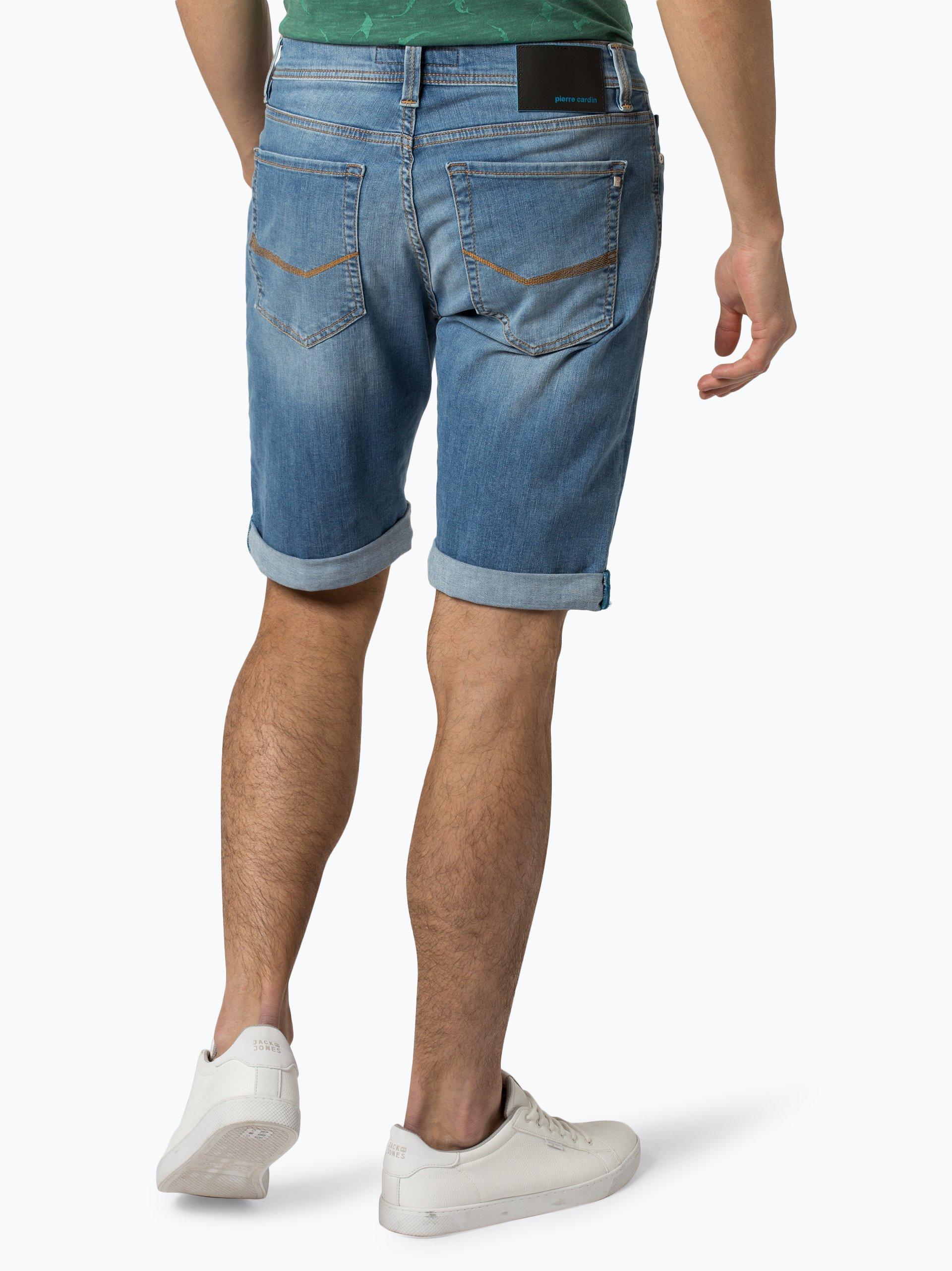 Pierre Cardin Męskie spodenki jeansowe – Future Flex