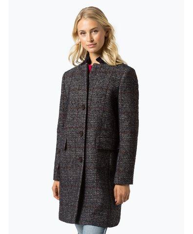 Płaszcz damski z dodatkiem alpaki i kaszmiru