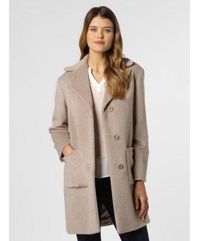 Płaszcz damski z dodatkiem alpaki i moheru