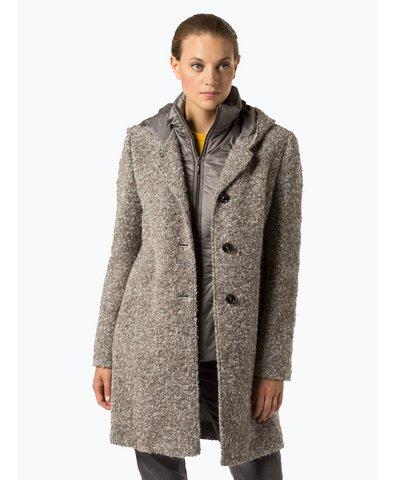 Płaszcz damski z dodatkiem alpaki
