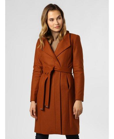 Płaszcz damski z dodatkiem kaszmiru – Ellgenc
